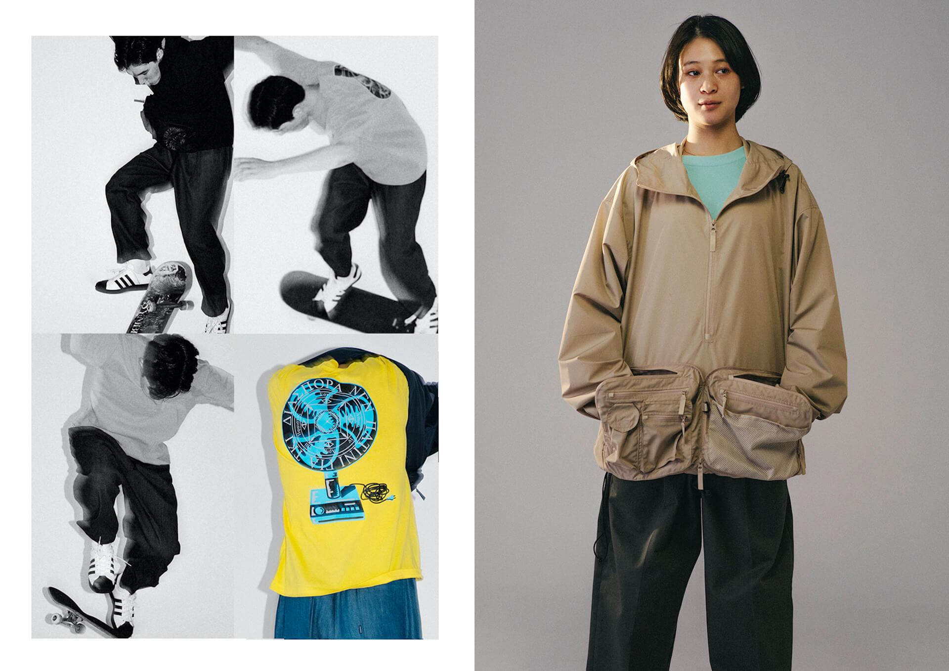 Diaspora skateboardsが2021SSのルックビジュアルを公開!モデルにはmiuらを起用 fashion210225_diasporaskateboards-06