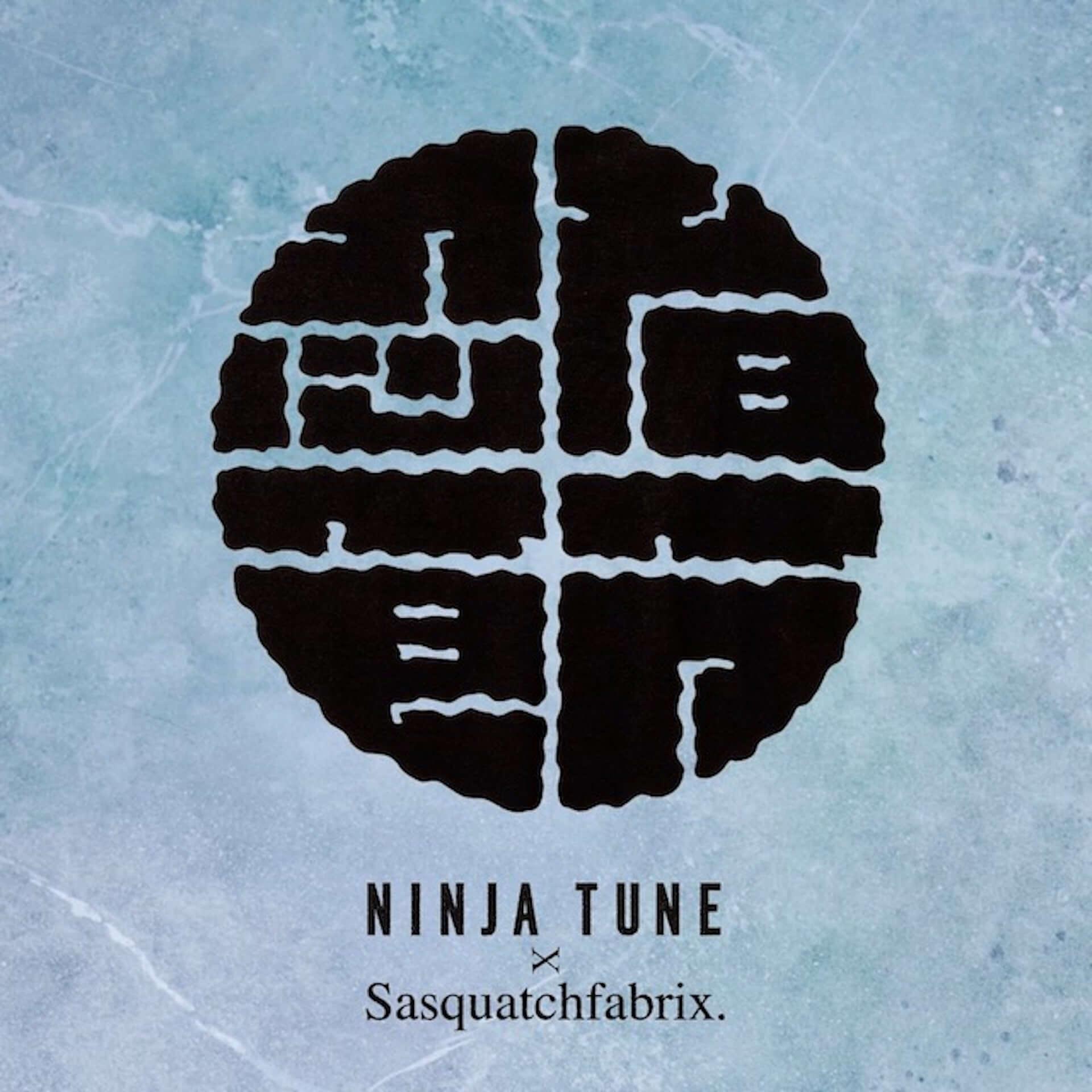 〈Ninja Tune〉30周年記念!Sasquatchfabrix.によるカプセルコレクション「NINJA BUSHI」が発売 music210329_ninjatune_5-1920x1920