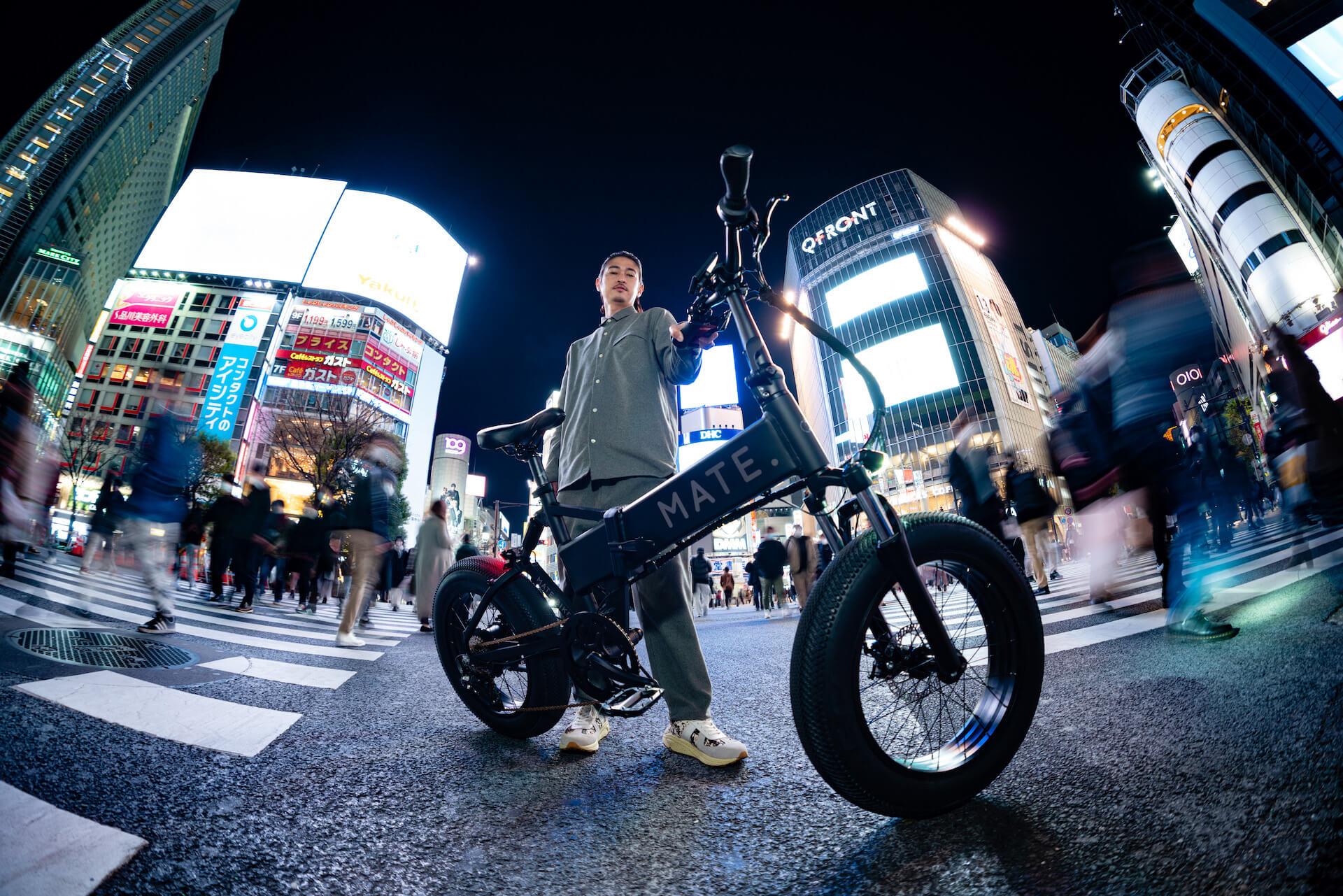 電動自転車ブランド「MATE. BIKE」世界初の旗艦店が恵比寿にオープン!窪塚洋介がジャパンアンバサダーに就任 tech210331_mate_bike_5