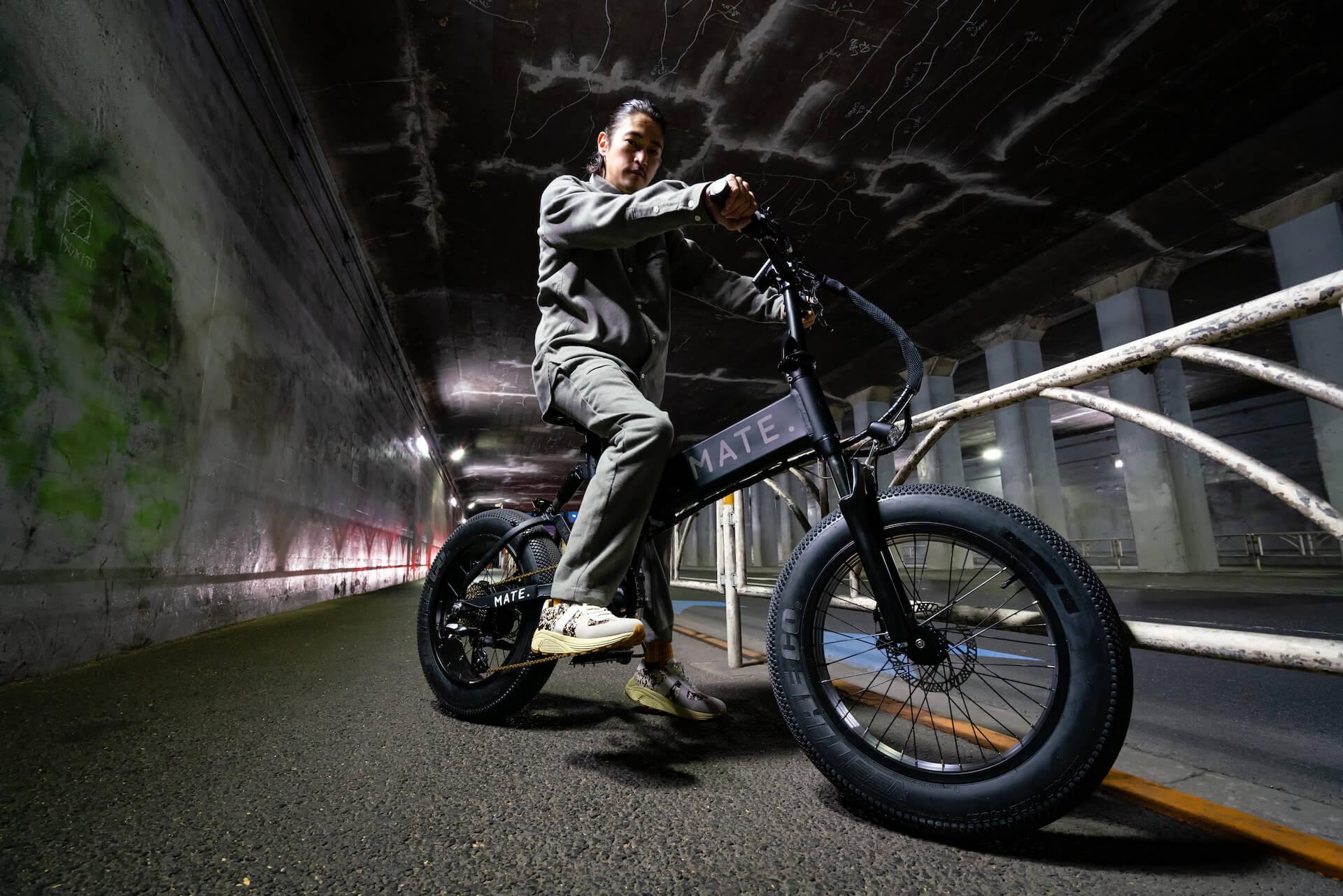 電動自転車ブランド「MATE. BIKE」世界初の旗艦店が恵比寿にオープン!窪塚洋介がジャパンアンバサダーに就任 tech210331_mate_bike_2