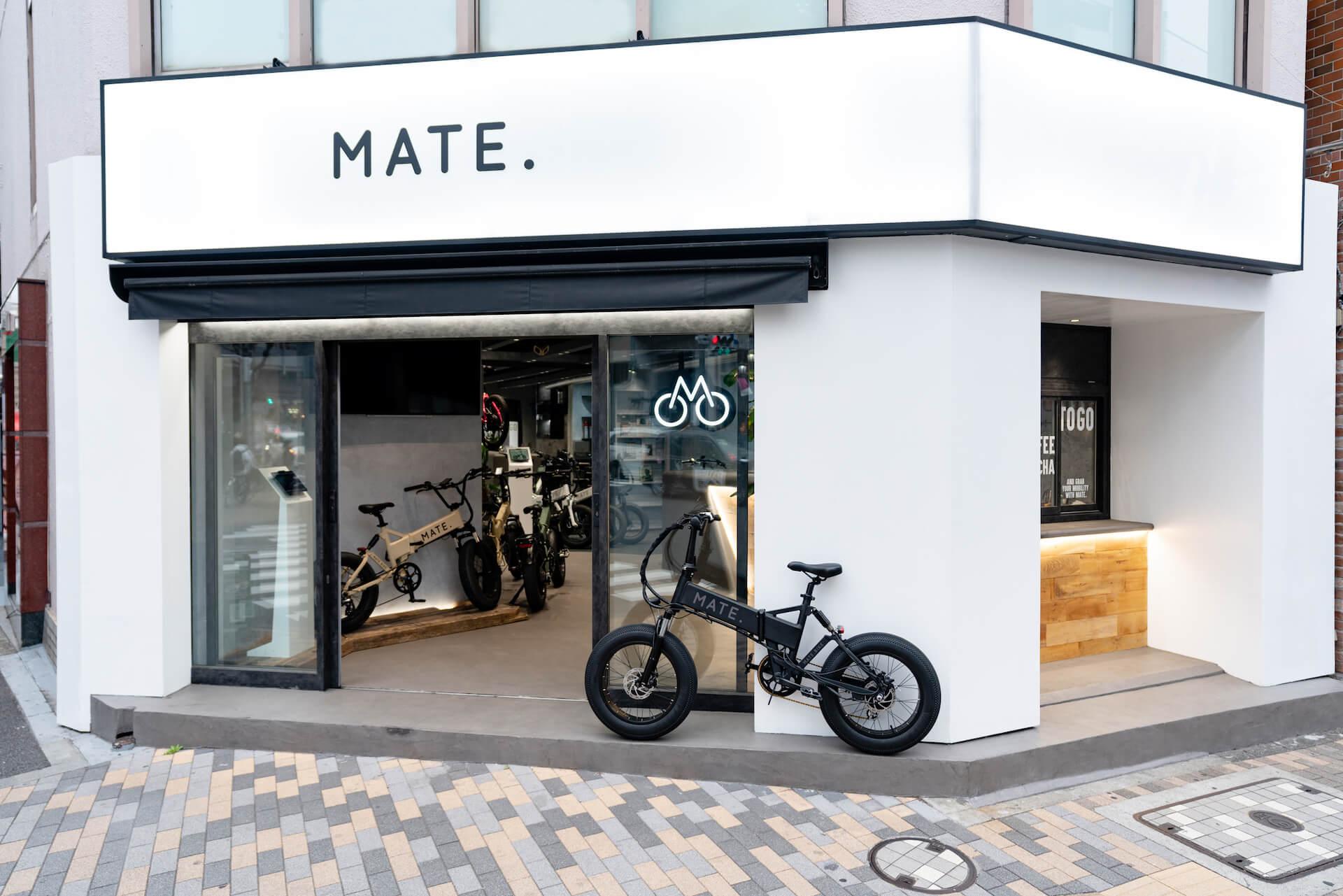 電動自転車ブランド「MATE. BIKE」世界初の旗艦店が恵比寿にオープン!窪塚洋介がジャパンアンバサダーに就任 tech210331_mate_bike_4