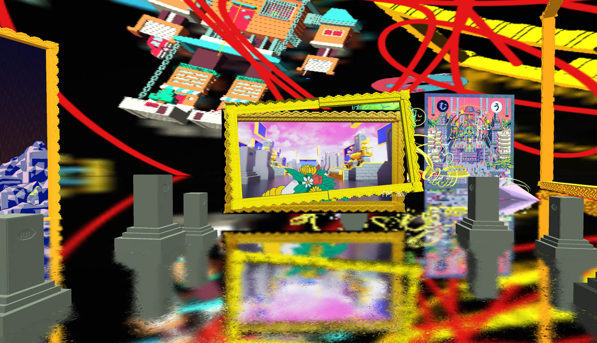 NFTに紐づくアートを展開するたかくらかずきによる継続的制作活動<アプデ輪廻>がスタート! art210331_takakurakazuki_apude_3