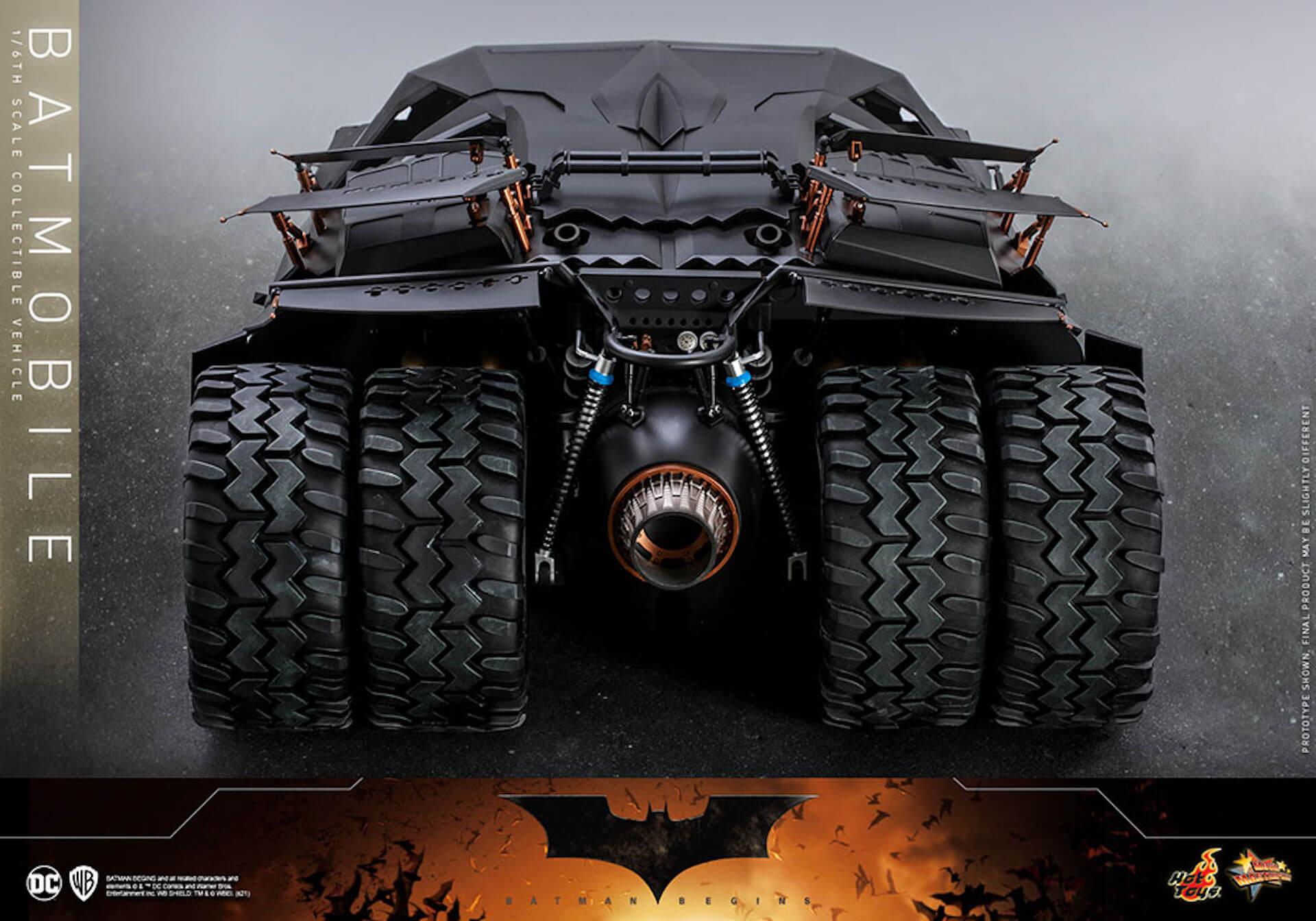 『バットマン ビギンズ』のバットマン&バットモービルが超精巧なフィギュアに!ホットトイズから発売決定 art210401_hottoys_batmanbegins_2