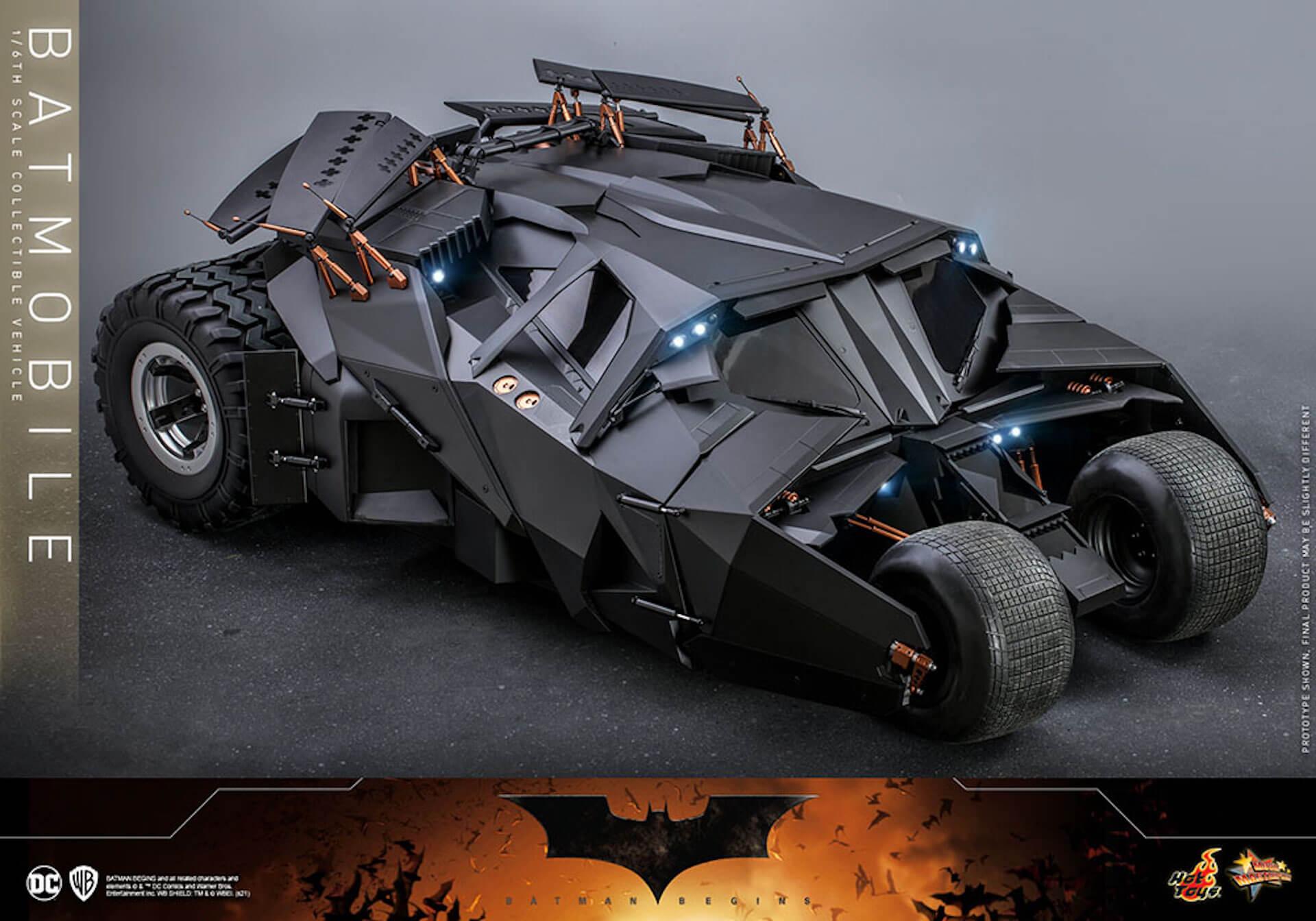 『バットマン ビギンズ』のバットマン&バットモービルが超精巧なフィギュアに!ホットトイズから発売決定 art210401_hottoys_batmanbegins_6