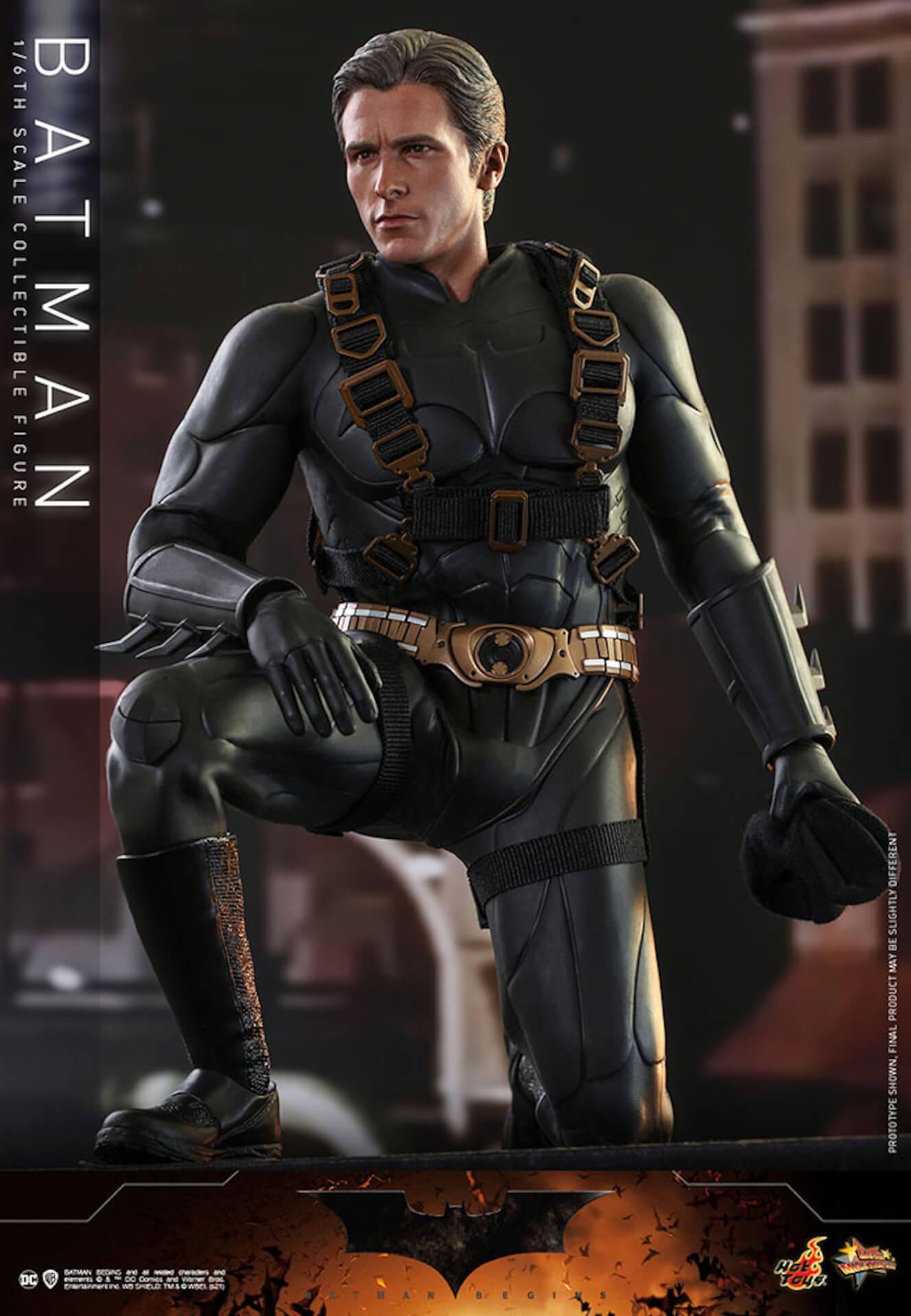 『バットマン ビギンズ』のバットマン&バットモービルが超精巧なフィギュアに!ホットトイズから発売決定 art210401_hottoys_batmanbegins_9