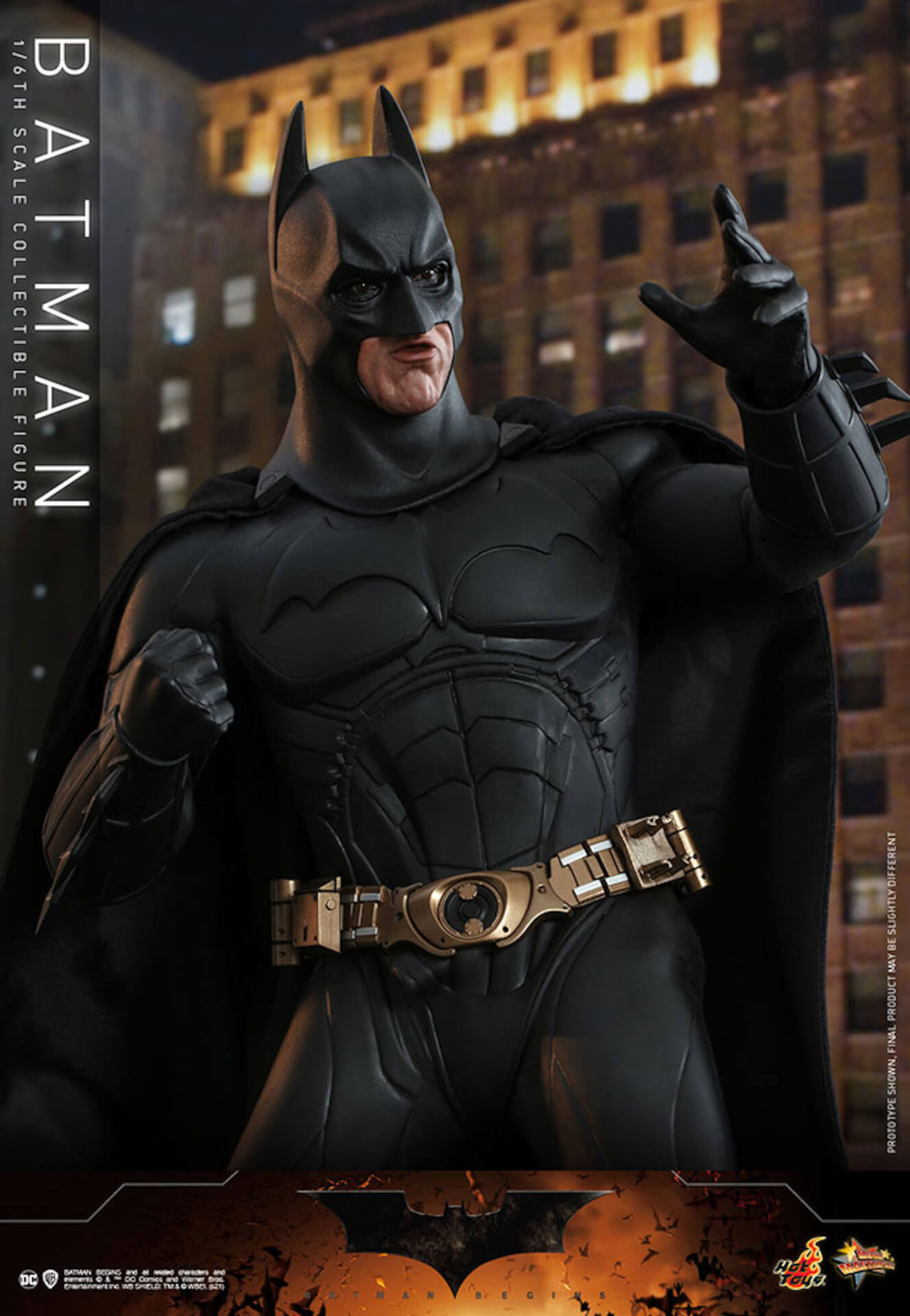 『バットマン ビギンズ』のバットマン&バットモービルが超精巧なフィギュアに!ホットトイズから発売決定 art210401_hottoys_batmanbegins_10