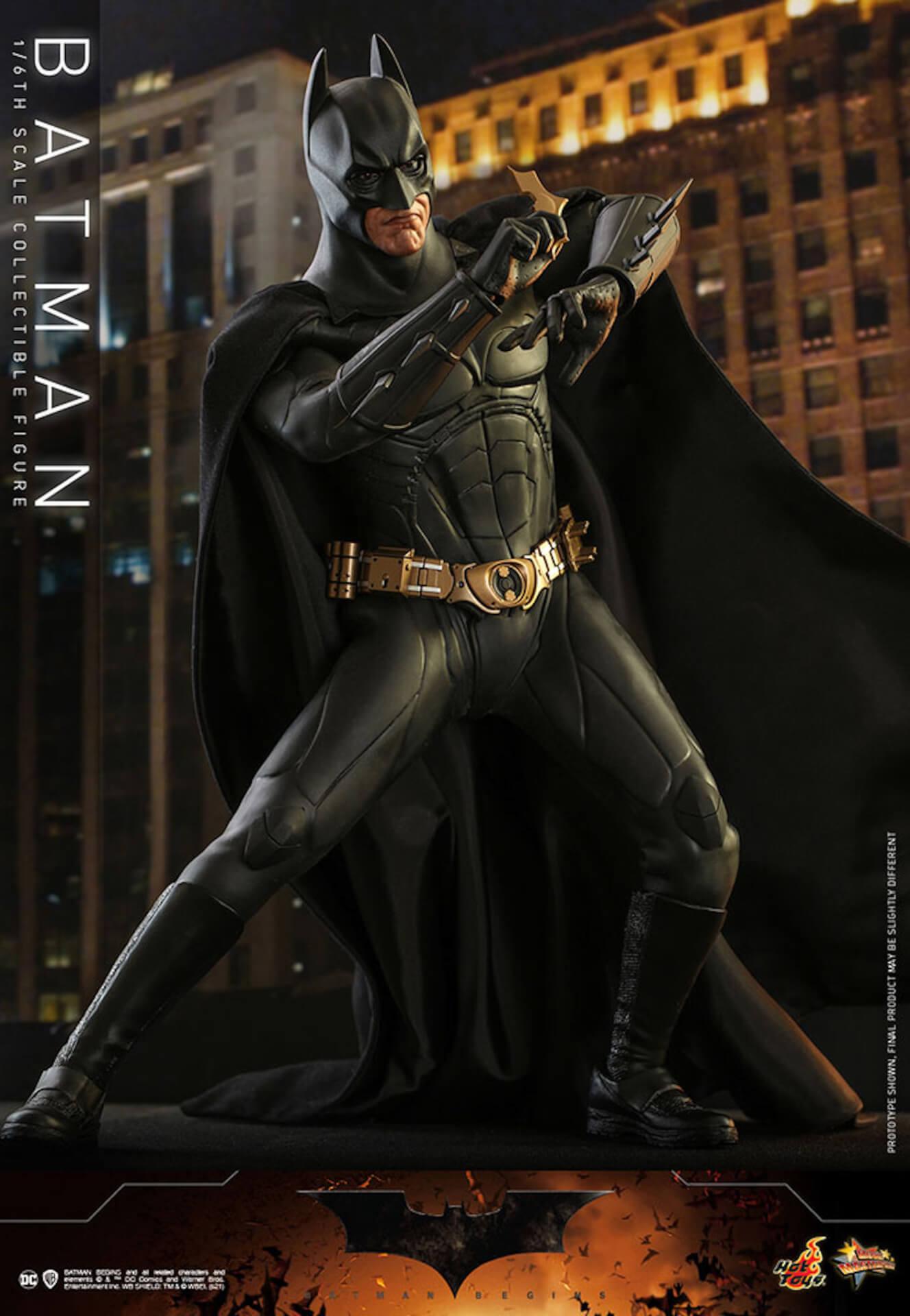 『バットマン ビギンズ』のバットマン&バットモービルが超精巧なフィギュアに!ホットトイズから発売決定 art210401_hottoys_batmanbegins_11