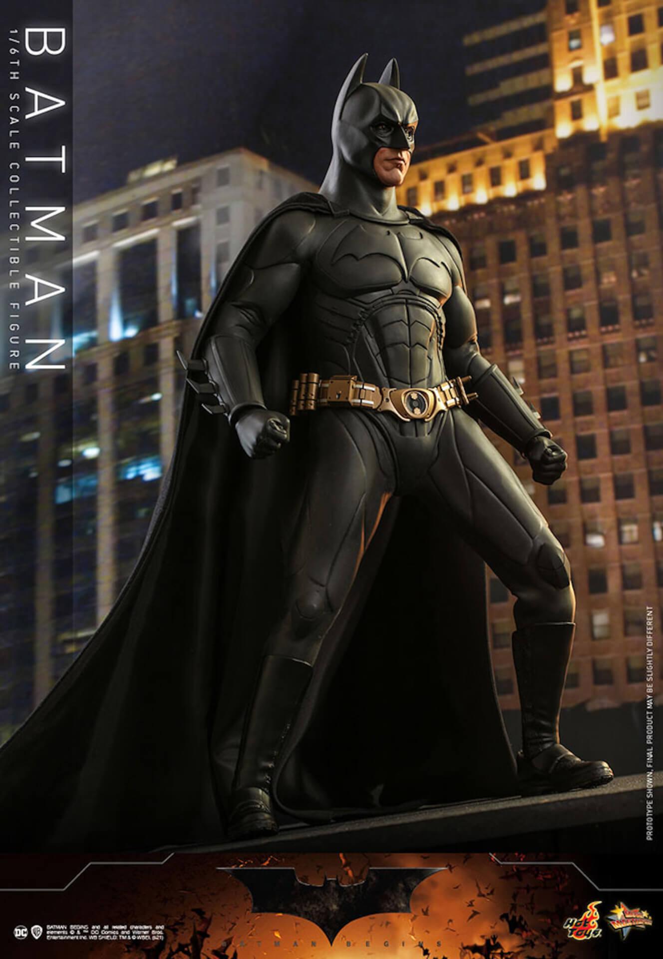 『バットマン ビギンズ』のバットマン&バットモービルが超精巧なフィギュアに!ホットトイズから発売決定 art210401_hottoys_batmanbegins_12