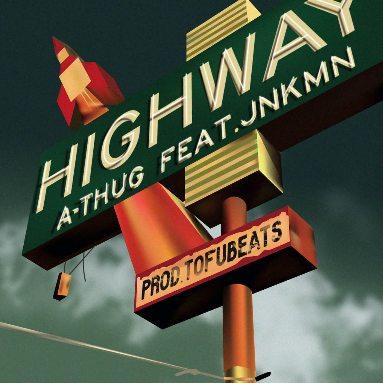 だけど俺らは走っていく──A-THUG、JNKMN、tofubeatsのコラボ曲「HIGHWAY」がリリース music210402-athug-jnkmn-tofubeats