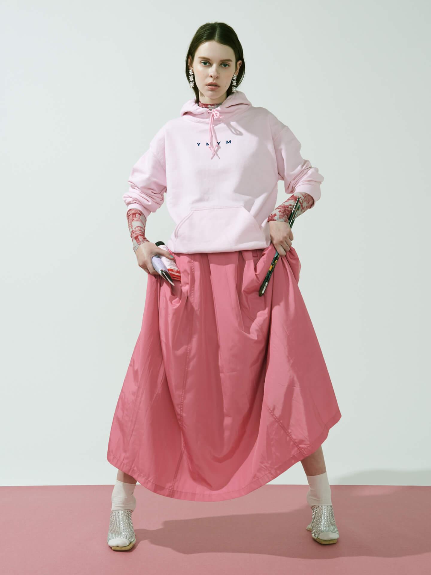 CHAIのベーシスト・YUUKIによるプロジェクト「YMYM」よりファッションブランドオープン!2021年春夏コレクション&描き下ろし絵画などの展示会も life210405_ymym_4