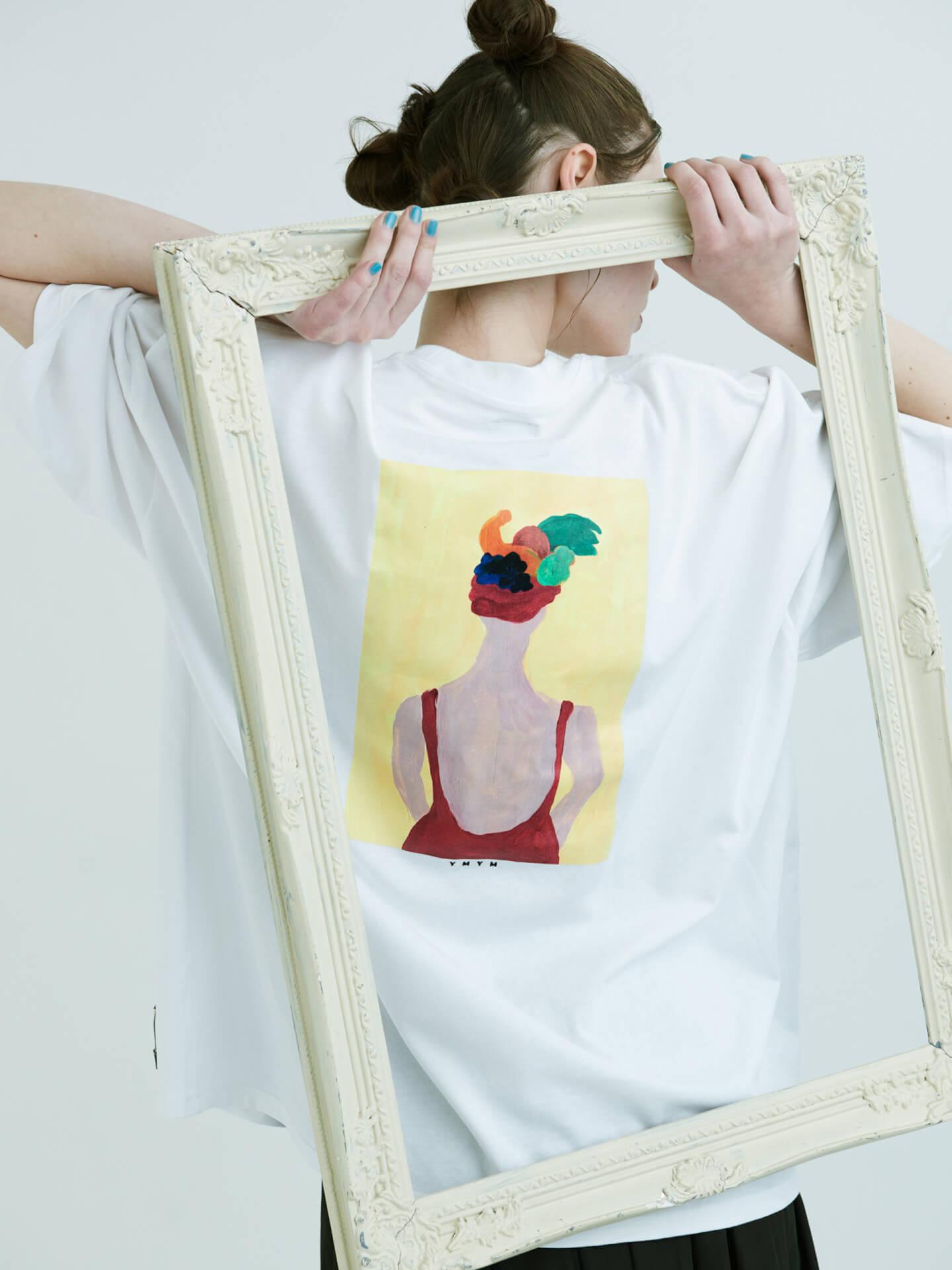 CHAIのベーシスト・YUUKIによるプロジェクト「YMYM」よりファッションブランドオープン!2021年春夏コレクション&描き下ろし絵画などの展示会も life210405_ymym_8