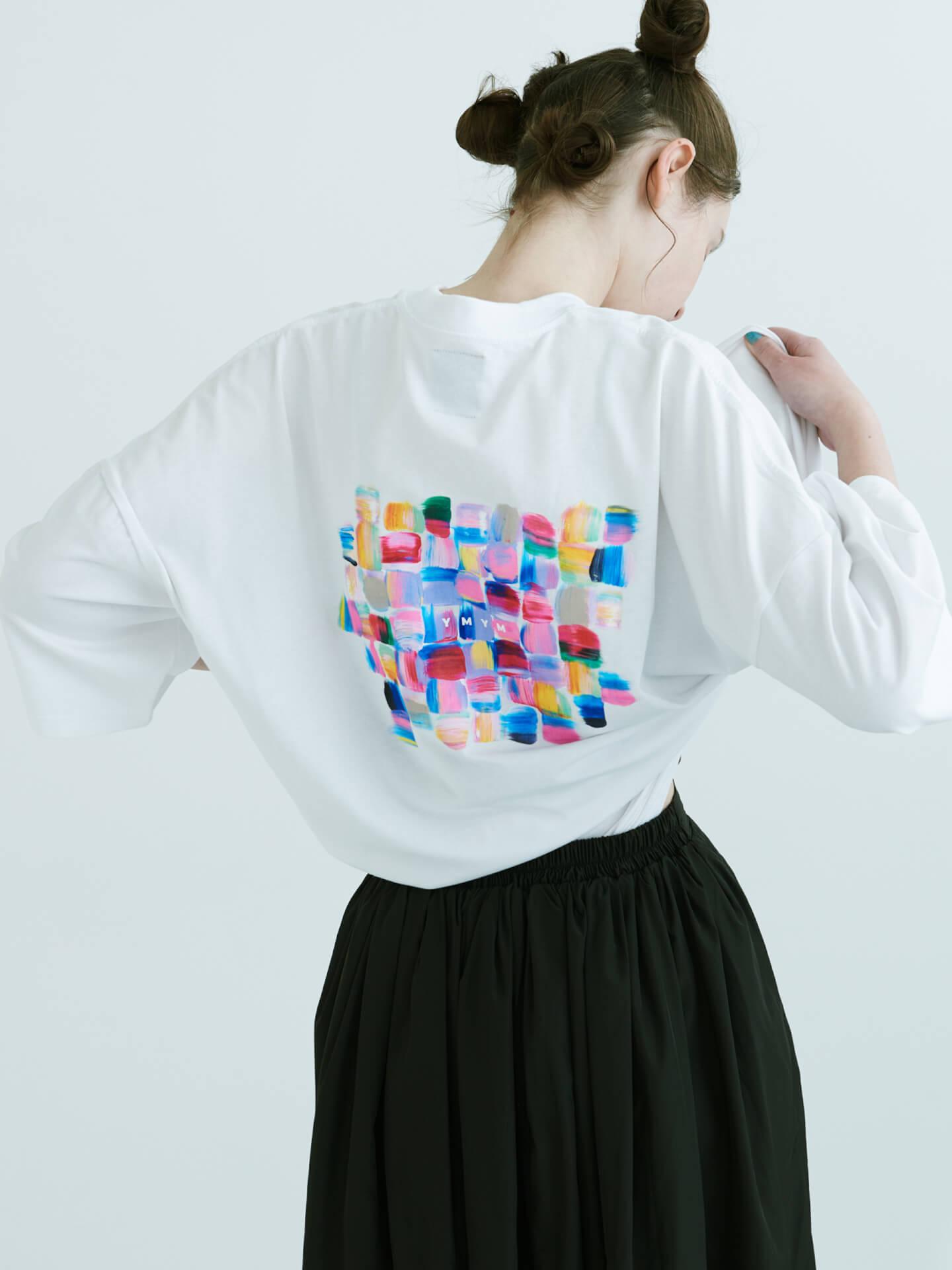 CHAIのベーシスト・YUUKIによるプロジェクト「YMYM」よりファッションブランドオープン!2021年春夏コレクション&描き下ろし絵画などの展示会も life210405_ymym_9