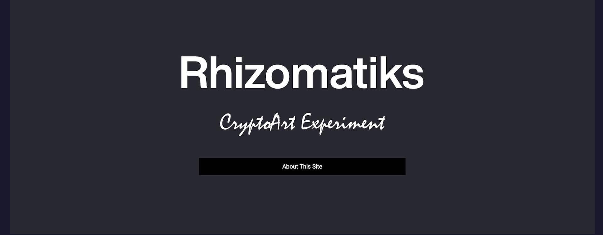 ライゾマティクスによるCryptoArtのプラットフォーム「CryptoArt Experiment」のβ版がオープン! art210405_rhizomatiks_cryptoart_4