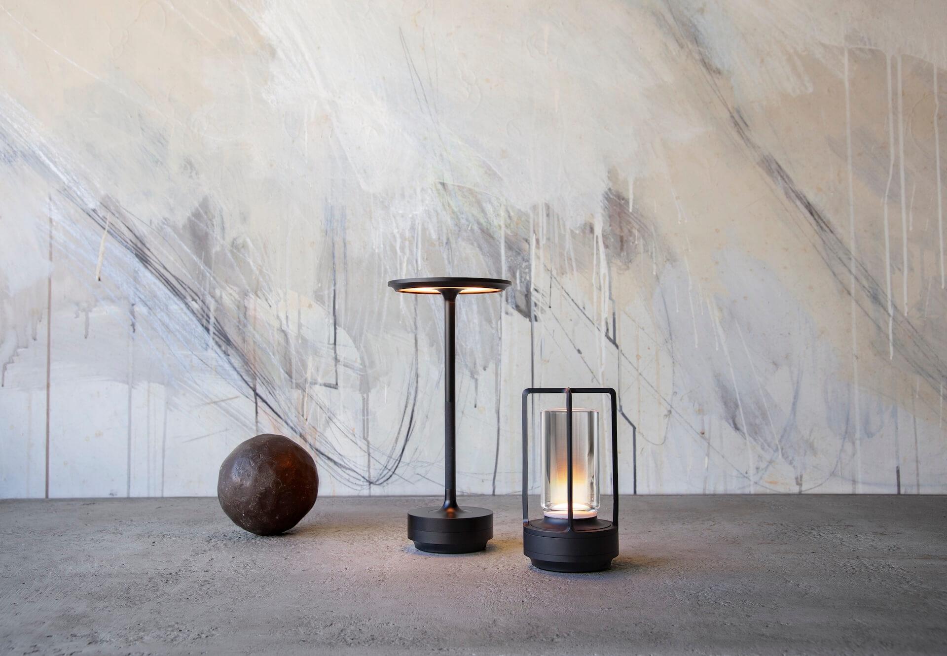 アンビエント照明「TURN+」が発売決定|ステンレス、真鍮、アルミブラックの3種 tech210407_turnplus_5