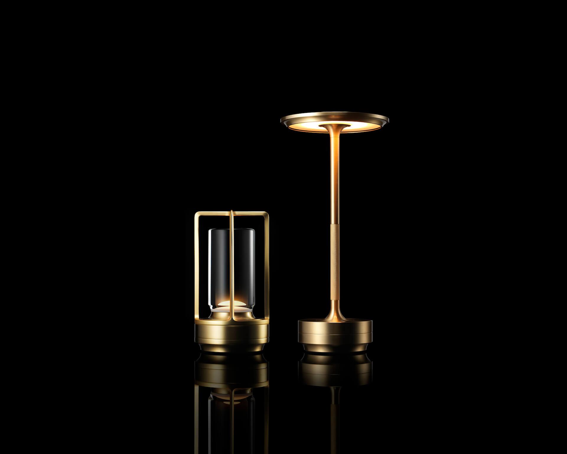 アンビエント照明「TURN+」が発売決定|ステンレス、真鍮、アルミブラックの3種 tech210407_turnplus_6
