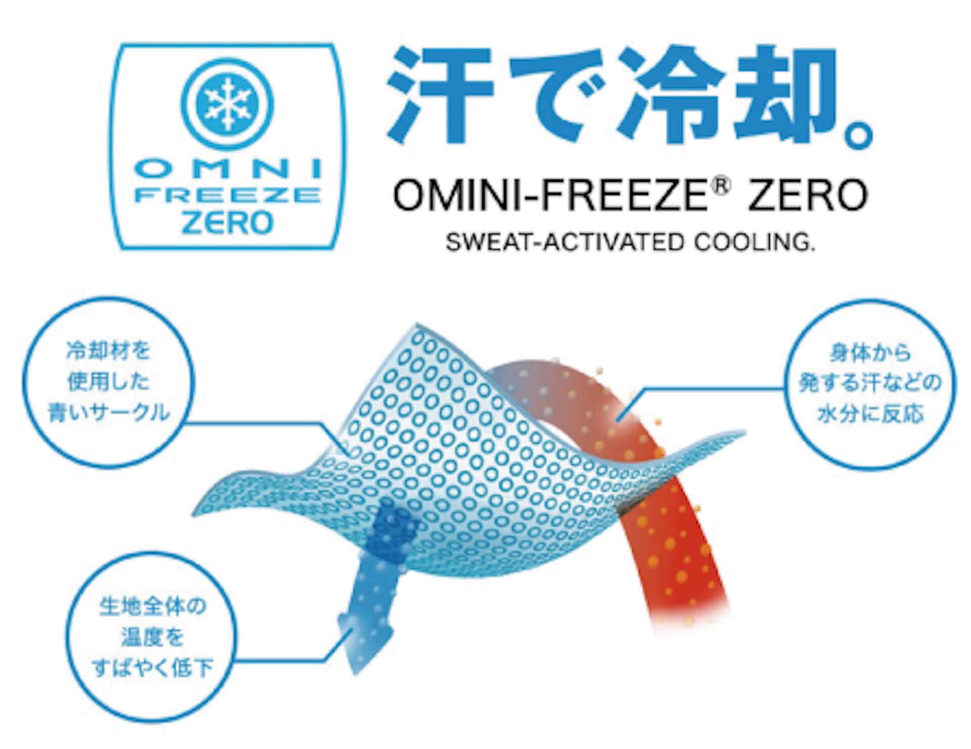 コロンビアとSHIPSのコラボTシャツが限定発売!冷却機能「オムニフリーズゼロ」を搭載した高機能モデル life210408_columbia_ships_8