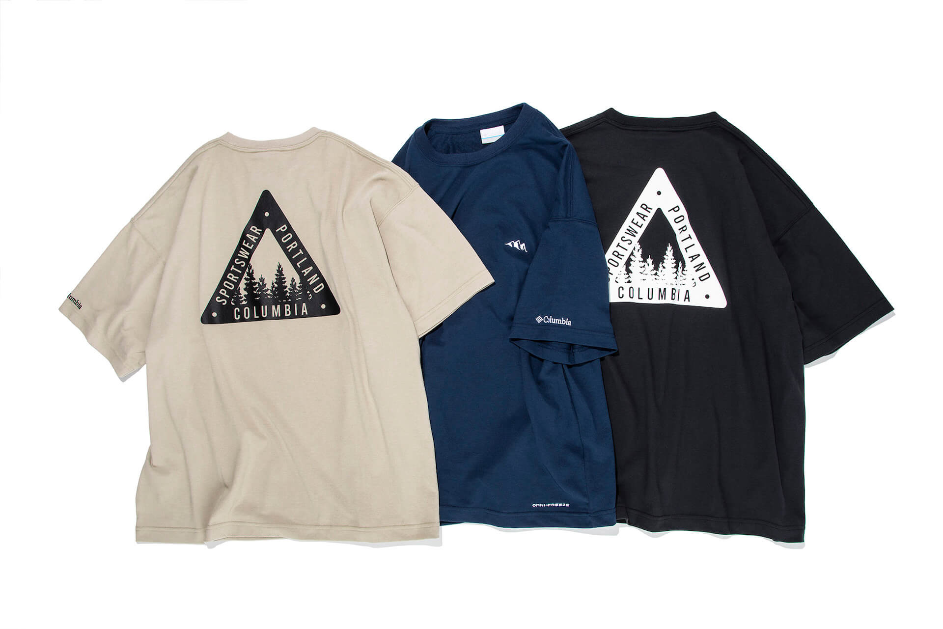 コロンビアとSHIPSのコラボTシャツが限定発売!冷却機能「オムニフリーズゼロ」を搭載した高機能モデル life210408_columbia_ships_3
