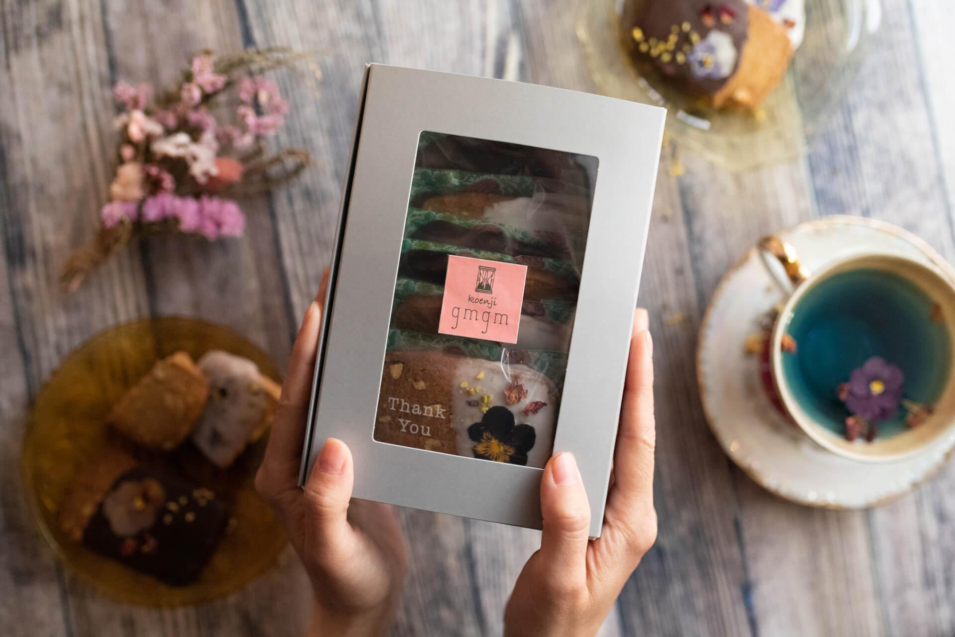 お花のクッキーが人気のgmgmで、ブーケ&お花のドーナツ付『母の日ギフトBOX』が予約受付開始! goulmet210408_gmgm_5