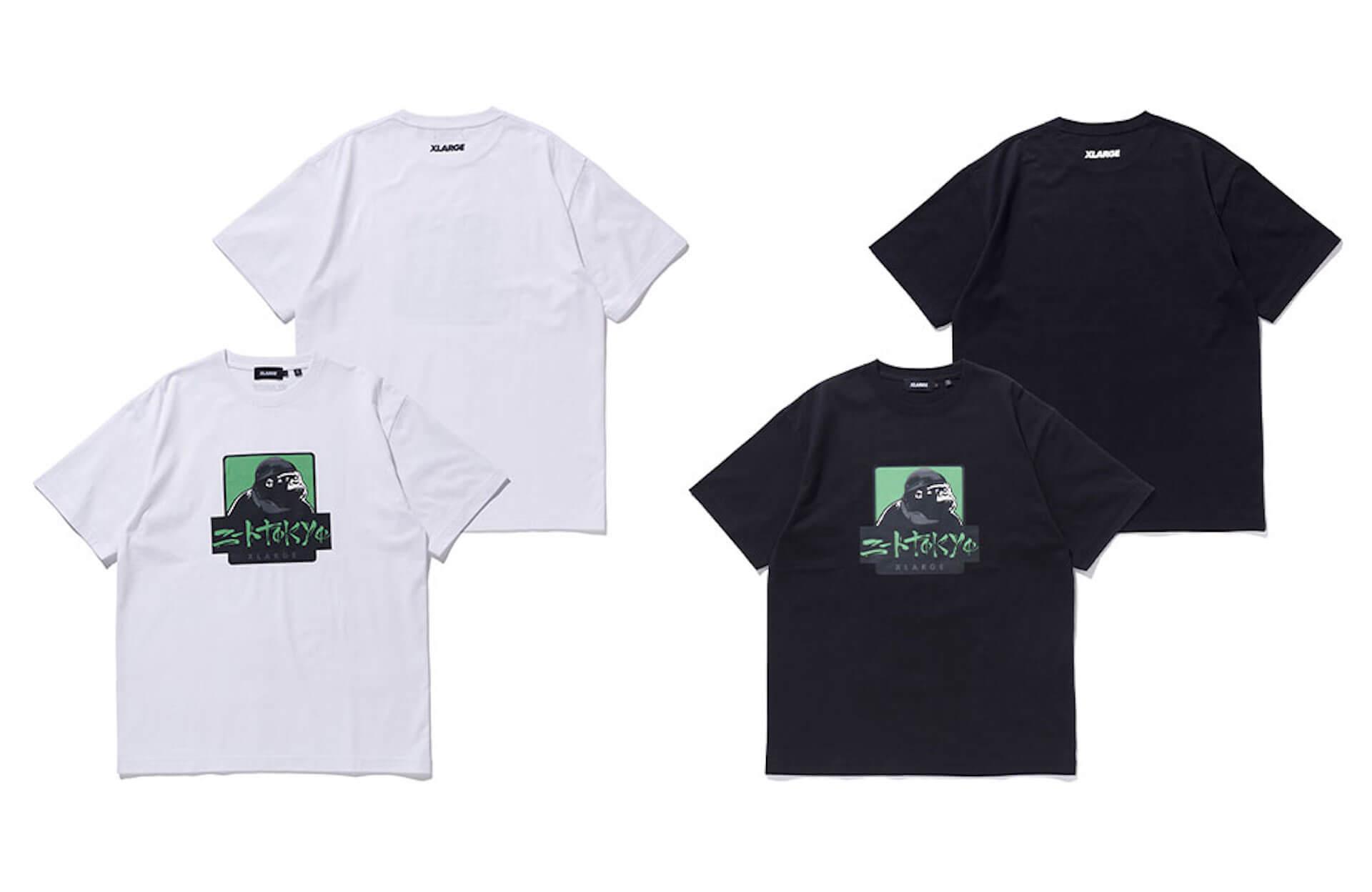 XLARGEとニートtokyoのコラボアイテムが4月20日発売!OGゴリラとのコラボロゴを配したTシャツ&ドゥーラグが登場 life210412_xlarge_neettokyo_2