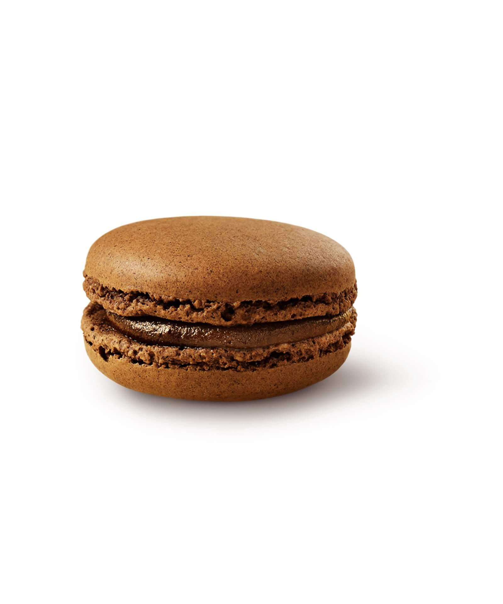 マクドナルド「マックカフェ」のマカロンシリーズに日本オリジナルの新作「グリーンティー」登場! gourmet210413_mcdonald_macaroons_4