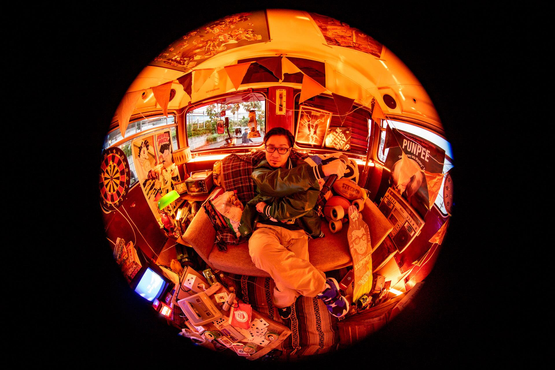 "PUNPEEによる動画配信イベント<Seasons Greetings'20>再上映決定!原島""ど真ん中""宙芳、METEORらも登場する有観客イベントも music210413_punpee_tongpoo_5"