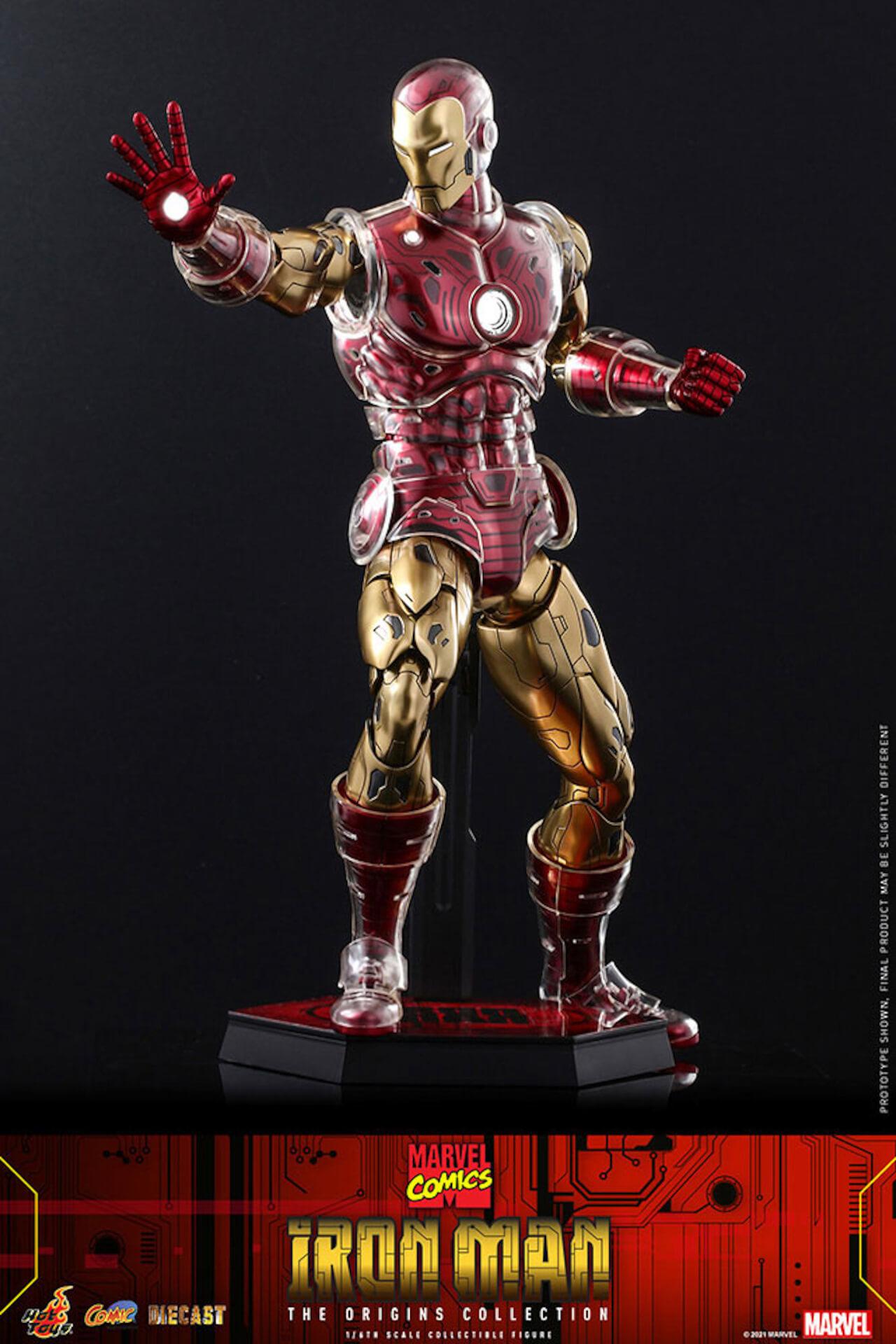 マーベルコミック版のアイアンマンをリアルに再現!ホットトイズ「コミック・マスターピース DIECAST」に登場 art210414_ironman_hottoys_11
