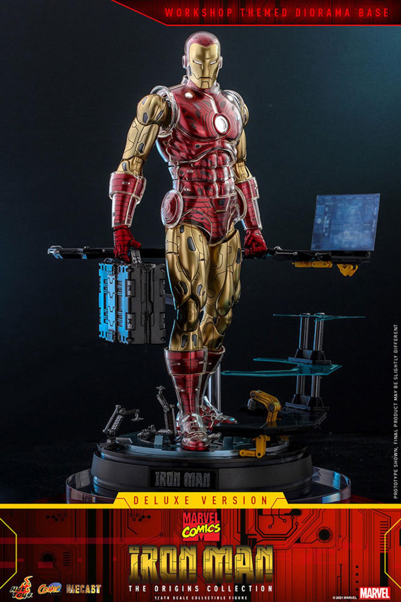 マーベルコミック版のアイアンマンをリアルに再現!ホットトイズ「コミック・マスターピース DIECAST」に登場 art210414_ironman_hottoys_5