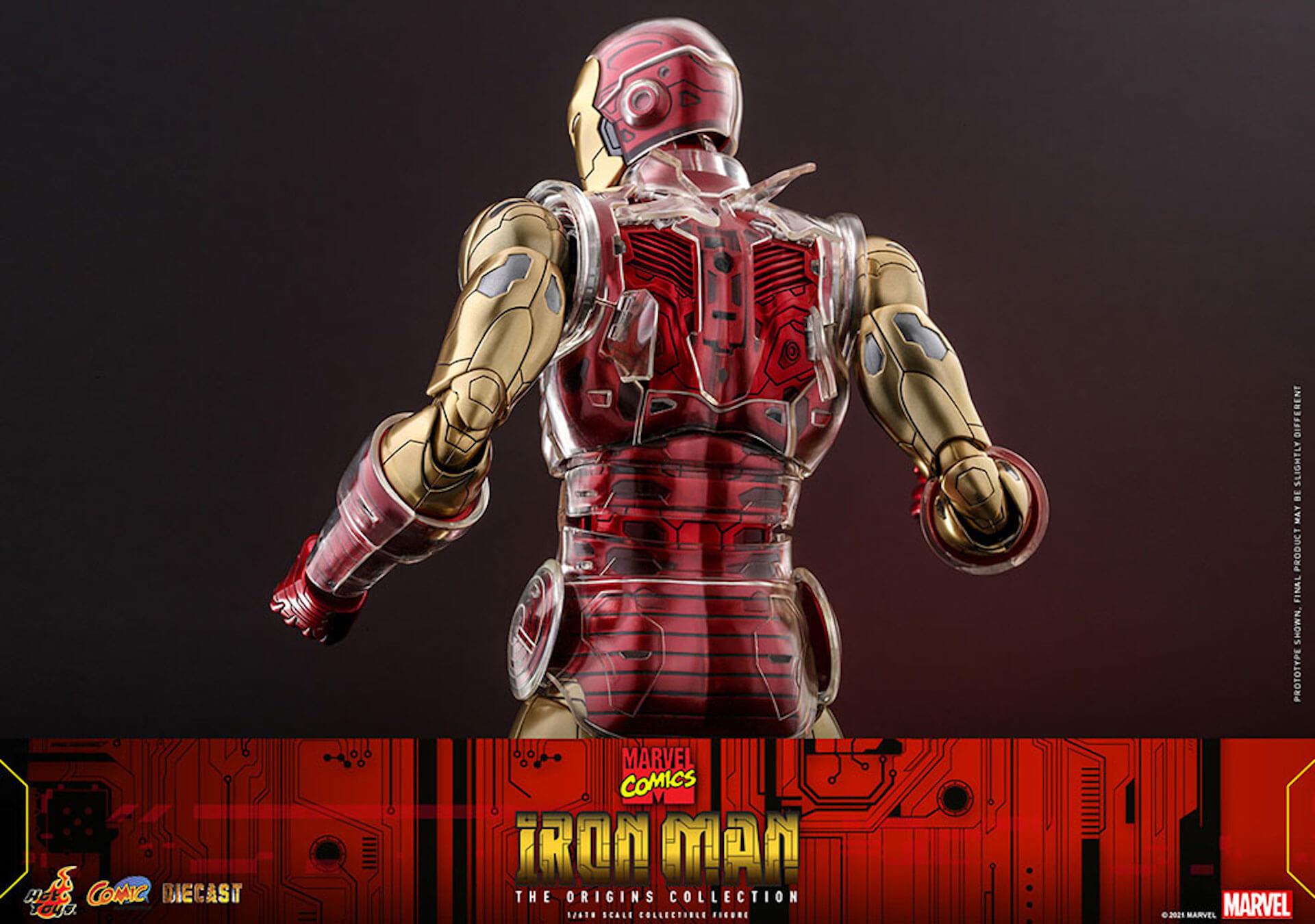 マーベルコミック版のアイアンマンをリアルに再現!ホットトイズ「コミック・マスターピース DIECAST」に登場 art210414_ironman_hottoys_9