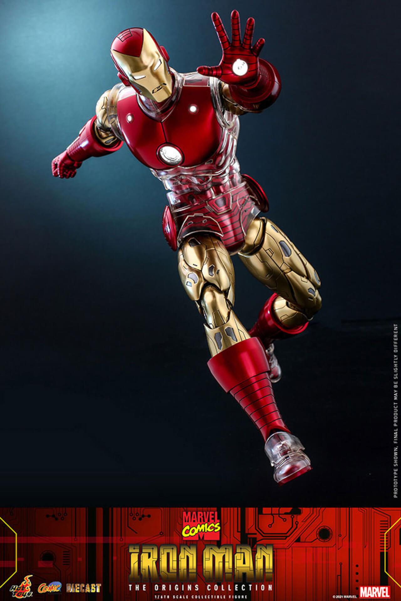 マーベルコミック版のアイアンマンをリアルに再現!ホットトイズ「コミック・マスターピース DIECAST」に登場 art210414_ironman_hottoys_7