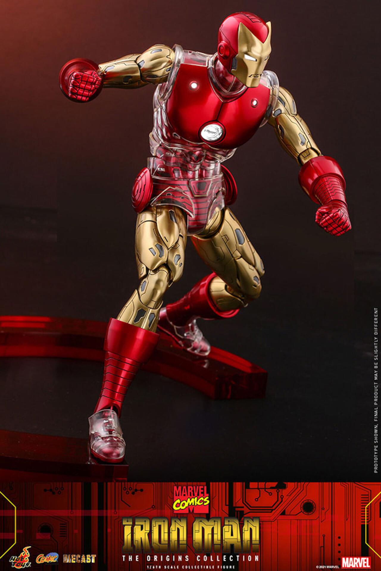 マーベルコミック版のアイアンマンをリアルに再現!ホットトイズ「コミック・マスターピース DIECAST」に登場 art210414_ironman_hottoys_8