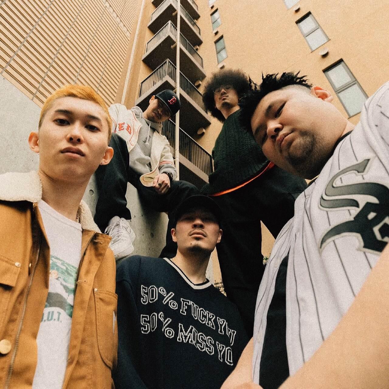 品川区出身のクルー・Flat Line Classicsが初のシングル「GOLDEN AGE」をリリース、MVも公開 music210414-flat-line-classics-2