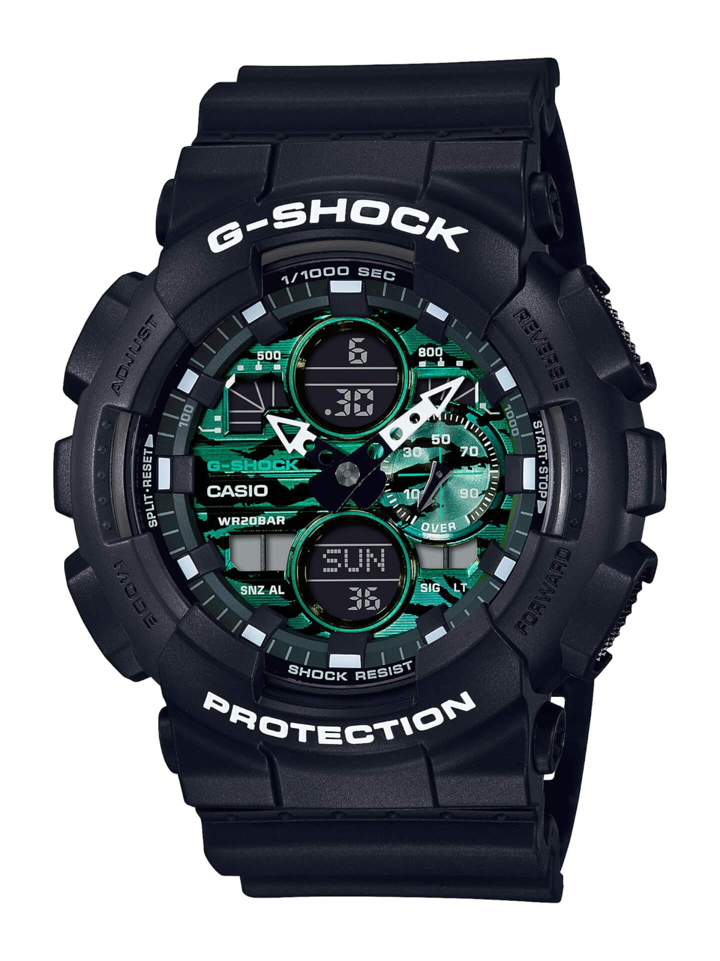 ブラック×グリーンが映えるG-SHOCKの新シリーズ「Black and Green Series」が登場! tech210415_gshock_3