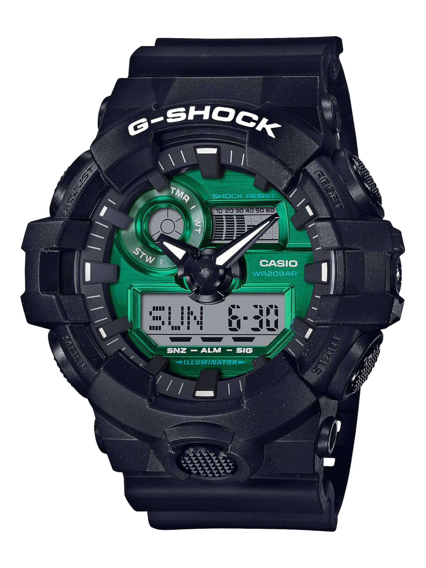 ブラック×グリーンが映えるG-SHOCKの新シリーズ「Black and Green Series」が登場! tech210415_gshock_4