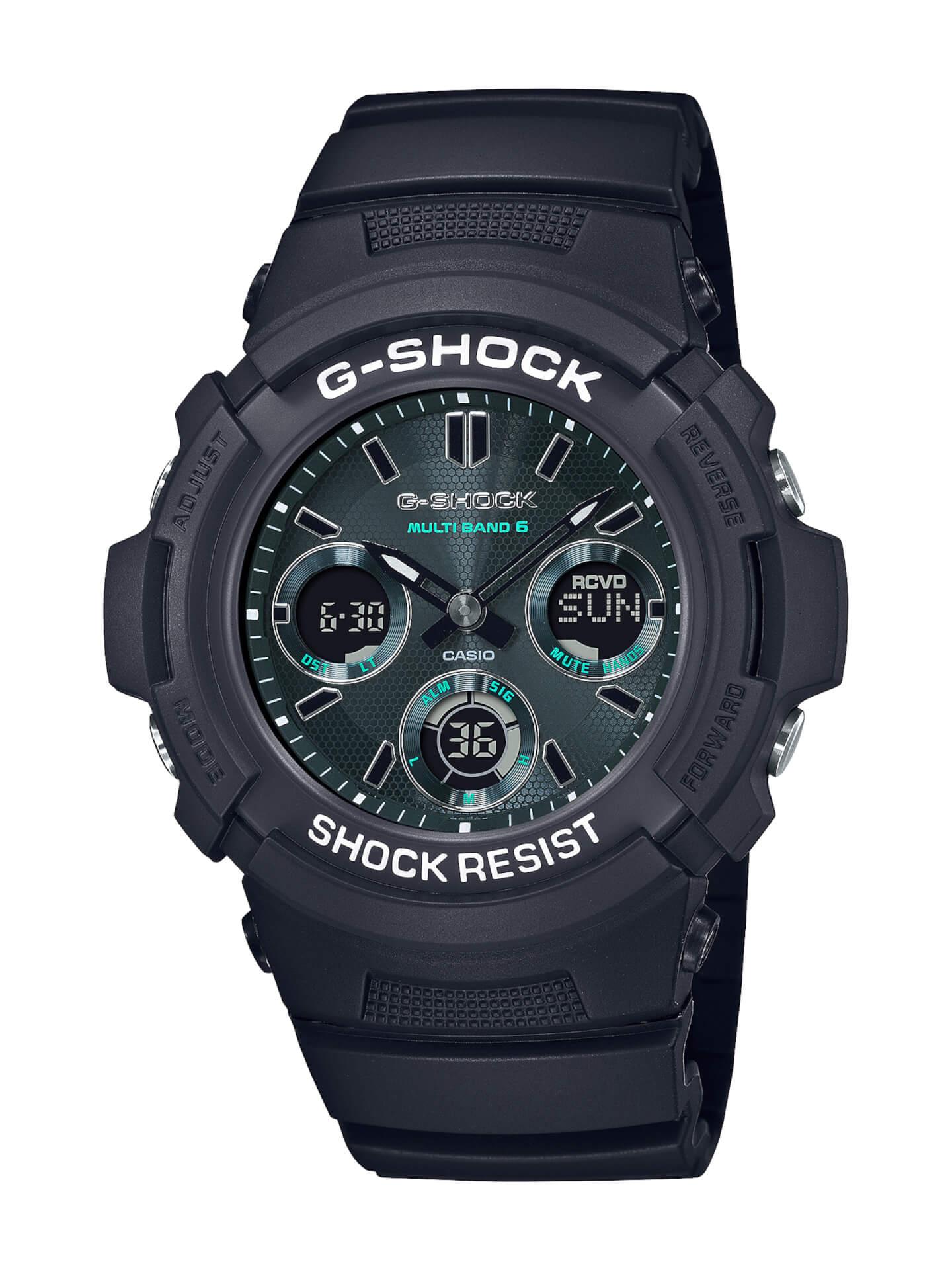 ブラック×グリーンが映えるG-SHOCKの新シリーズ「Black and Green Series」が登場! tech210415_gshock_5