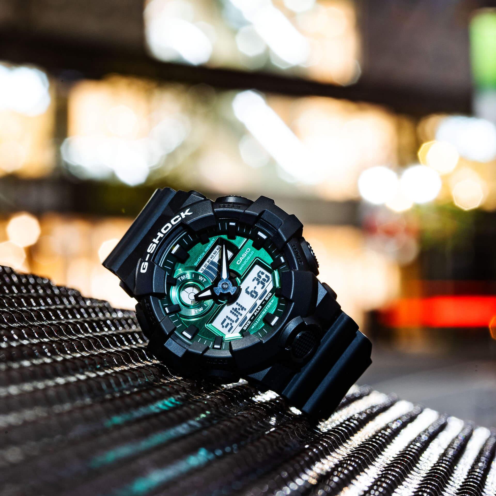 ブラック×グリーンが映えるG-SHOCKの新シリーズ「Black and Green Series」が登場! tech210415_gshock_7