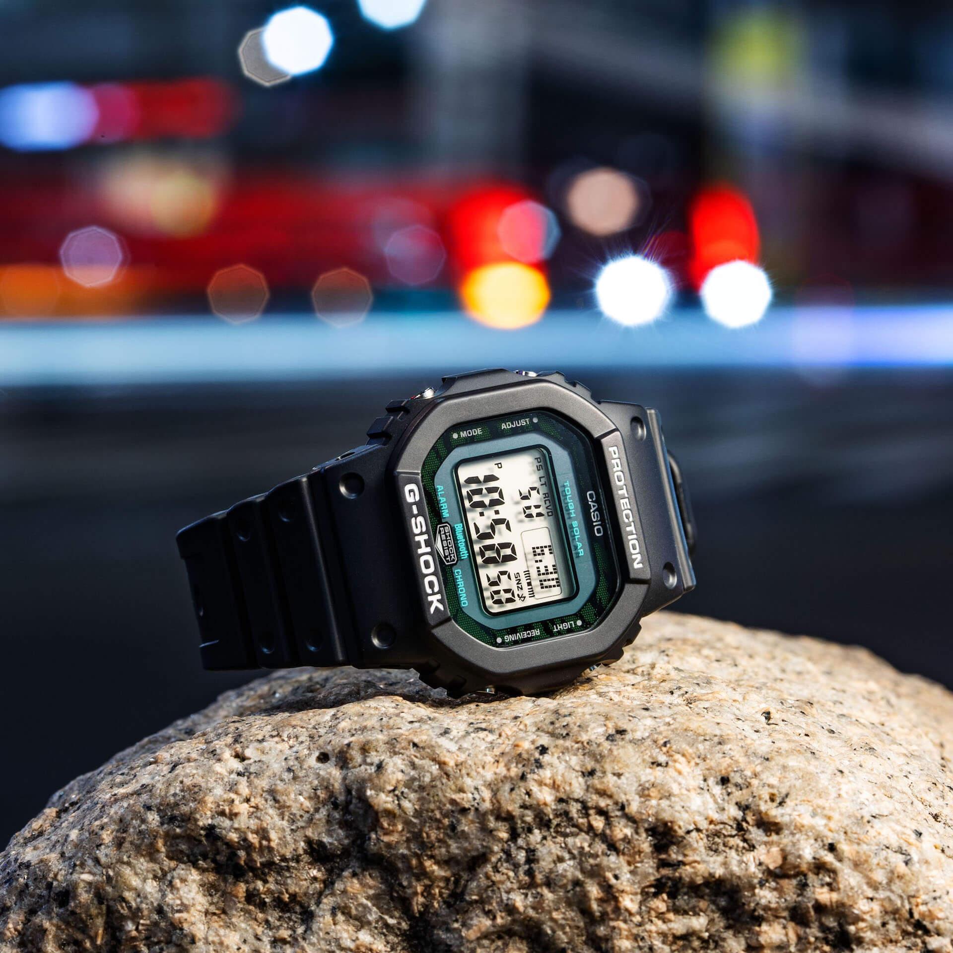 ブラック×グリーンが映えるG-SHOCKの新シリーズ「Black and Green Series」が登場! tech210415_gshock_1