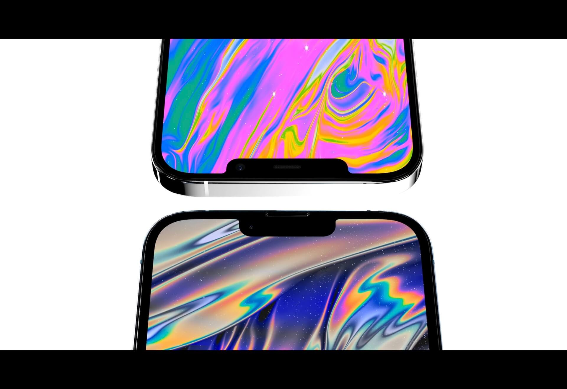 iPhone 13シリーズのディスプレイフィルムの画像が新たにリーク!?ノッチ幅はやはり狭くなる? tech210419_iphone13_main