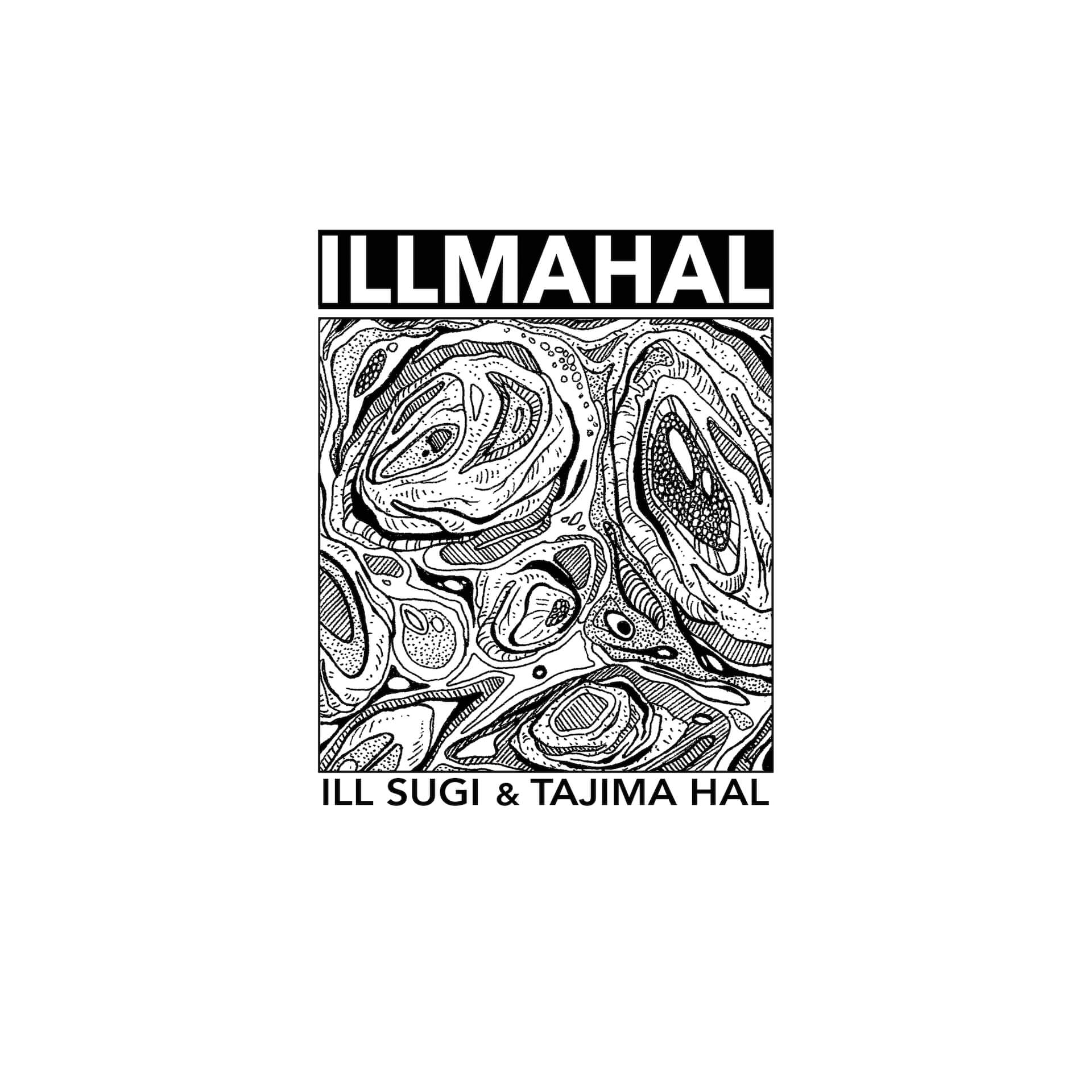 tajima halとILL SUGIのジョイント作『ILLMAHAL』が明日4月20日リリース!カセット&CDも発売 music210419_illmahal_2