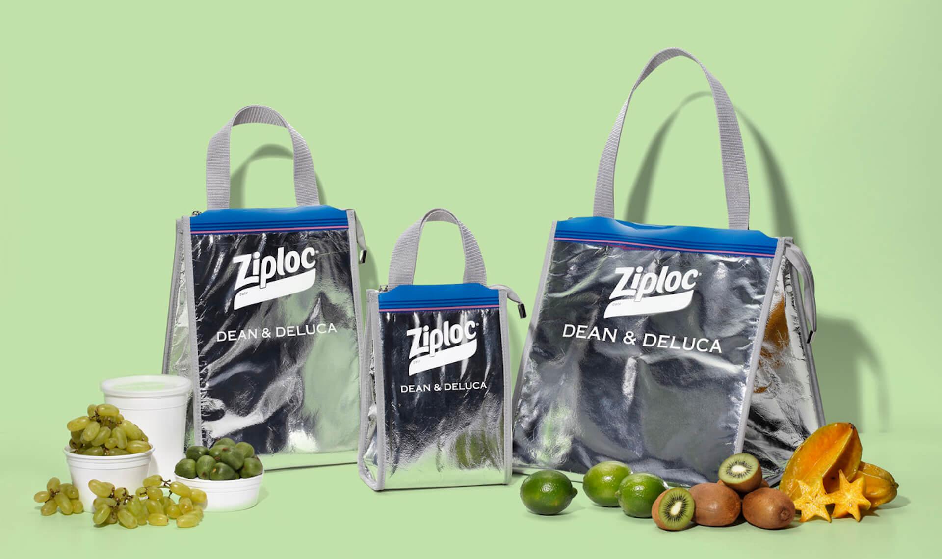 DEAN & DELUCAとBEAMS COUTURE、Ziplocのコラボクーラーバッグが再度登場!3サイズ展開で発売決定 life210419_deananddeluca_beams_ziploc_1