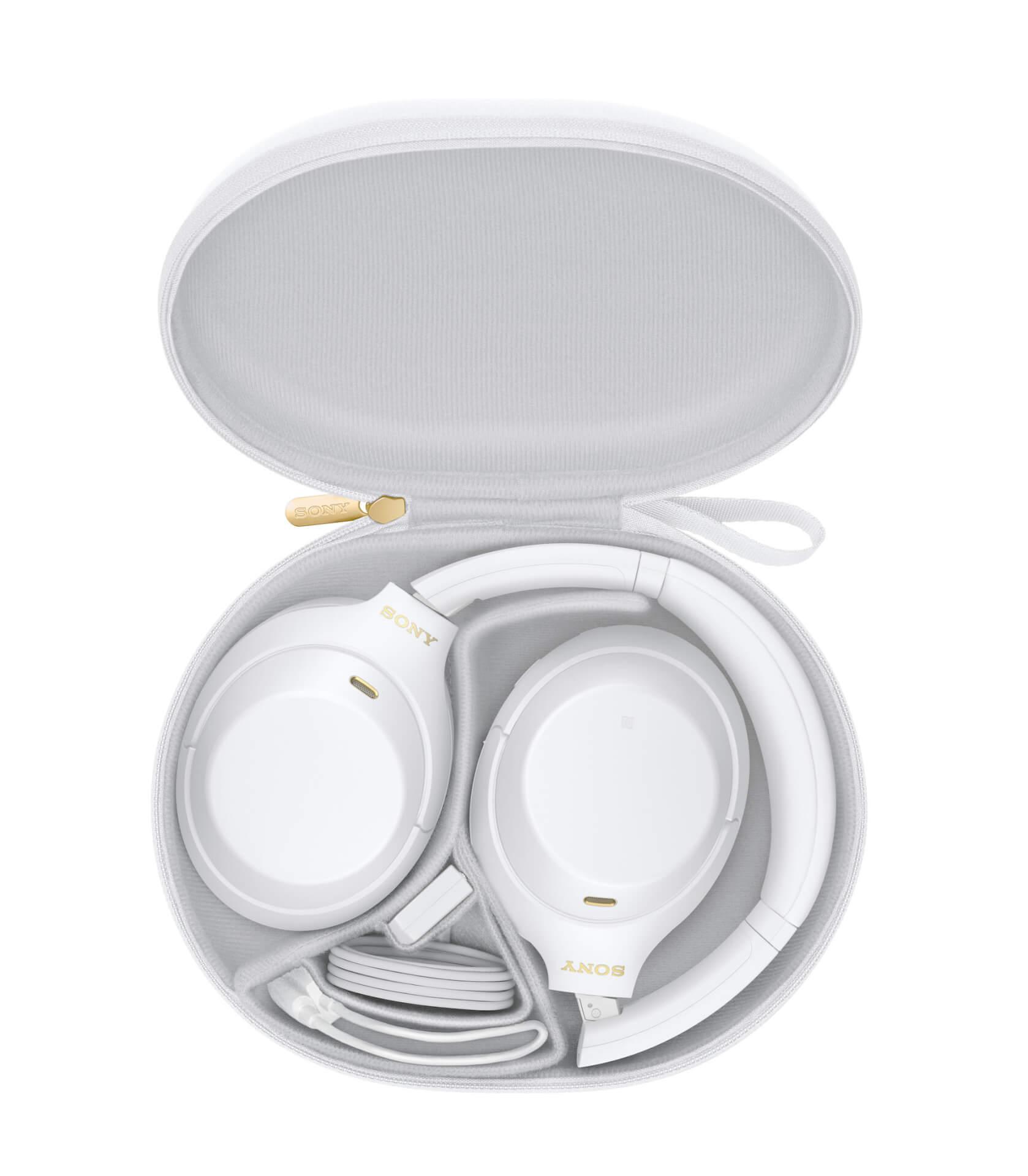 ソニーの大人気ノイズキャンセリングヘッドホン『WH-1000XM4』に限定カラーのサイレントホワイトが登場!LiSAを起用したKVも公開 tech210420_sony_headphone_5