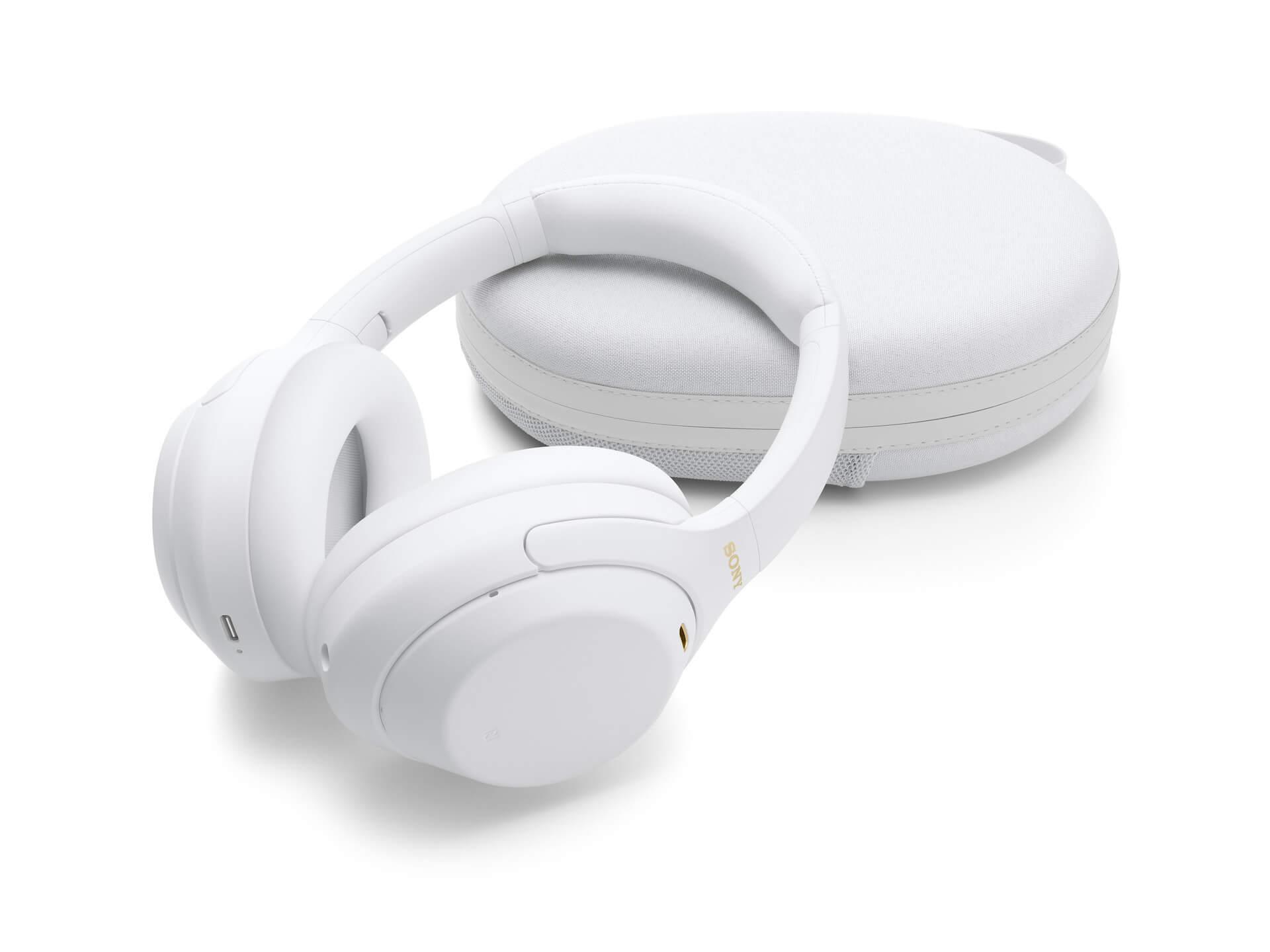 ソニーの大人気ノイズキャンセリングヘッドホン『WH-1000XM4』に限定カラーのサイレントホワイトが登場!LiSAを起用したKVも公開 tech210420_sony_headphone_6