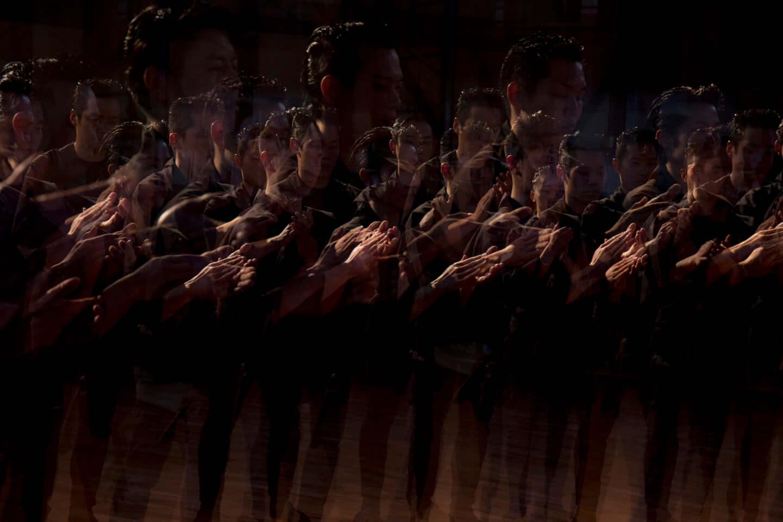 対談:日野浩志郎 × 鼓童|現代音楽と伝統芸能、映像作品『戦慄せしめよ』でみせた新しい表現の種 interview210326_kodo-kohshiro_hino_3-1440x960