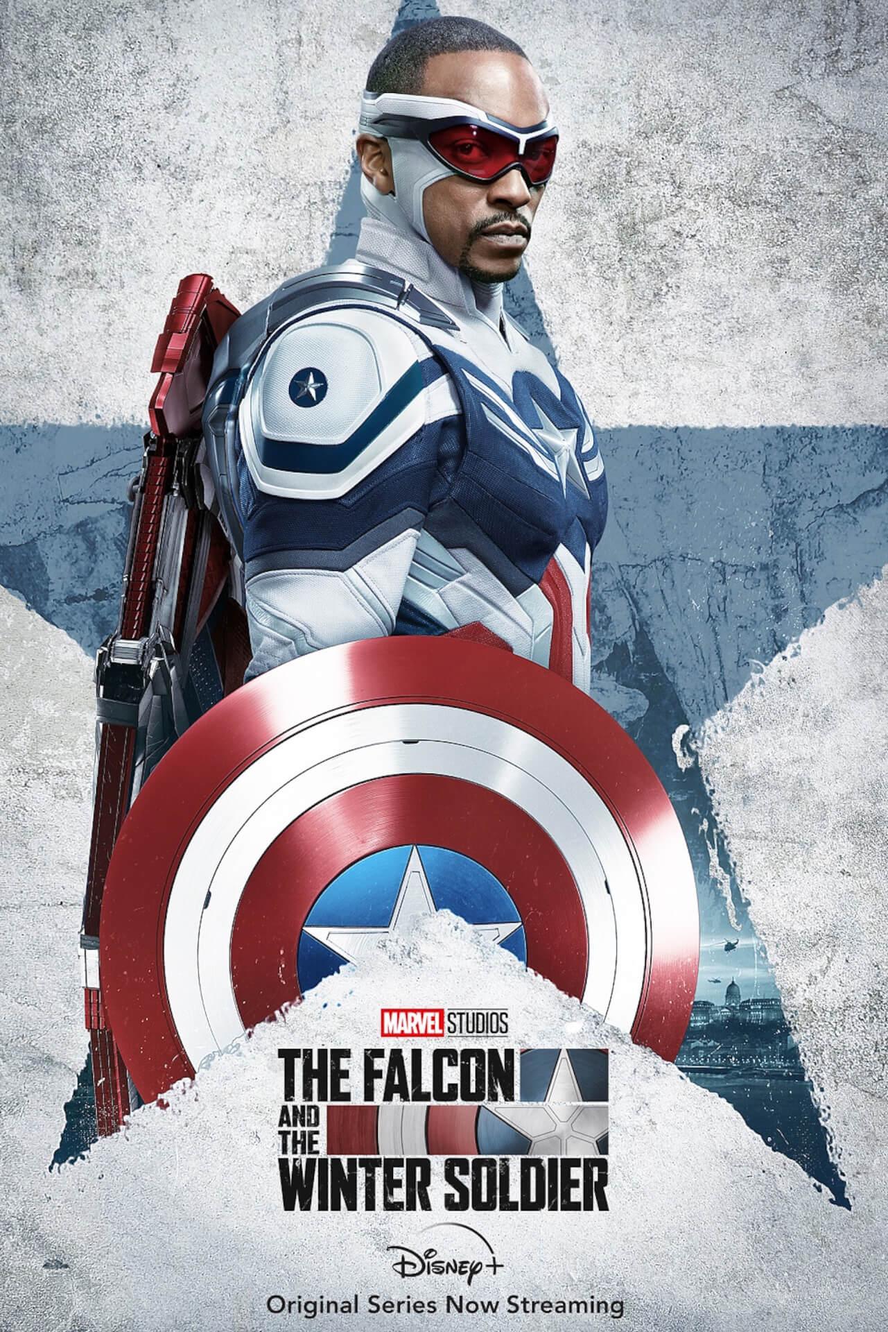 ついに新たなキャプテン・アメリカが誕生!『ファルコン&ウィンター・ソルジャー』新キャラポス&新場面写真が解禁 film210428_falcon_wintersoldier_1