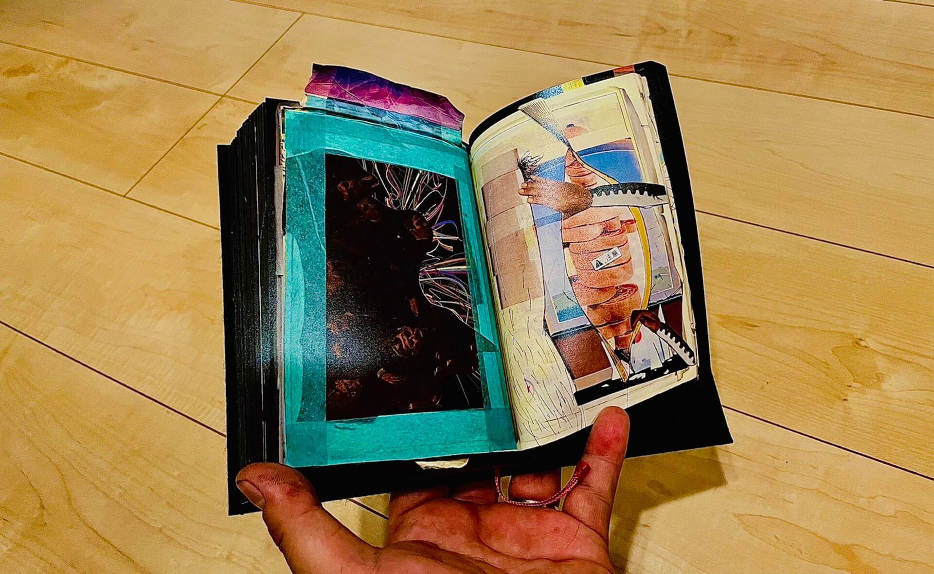 アートブックノススメ:番外編| m-al(Pack3) -『BLACK BOOK REMIX』/POPY OIL & KILLER BONG art210430_book_mal_1