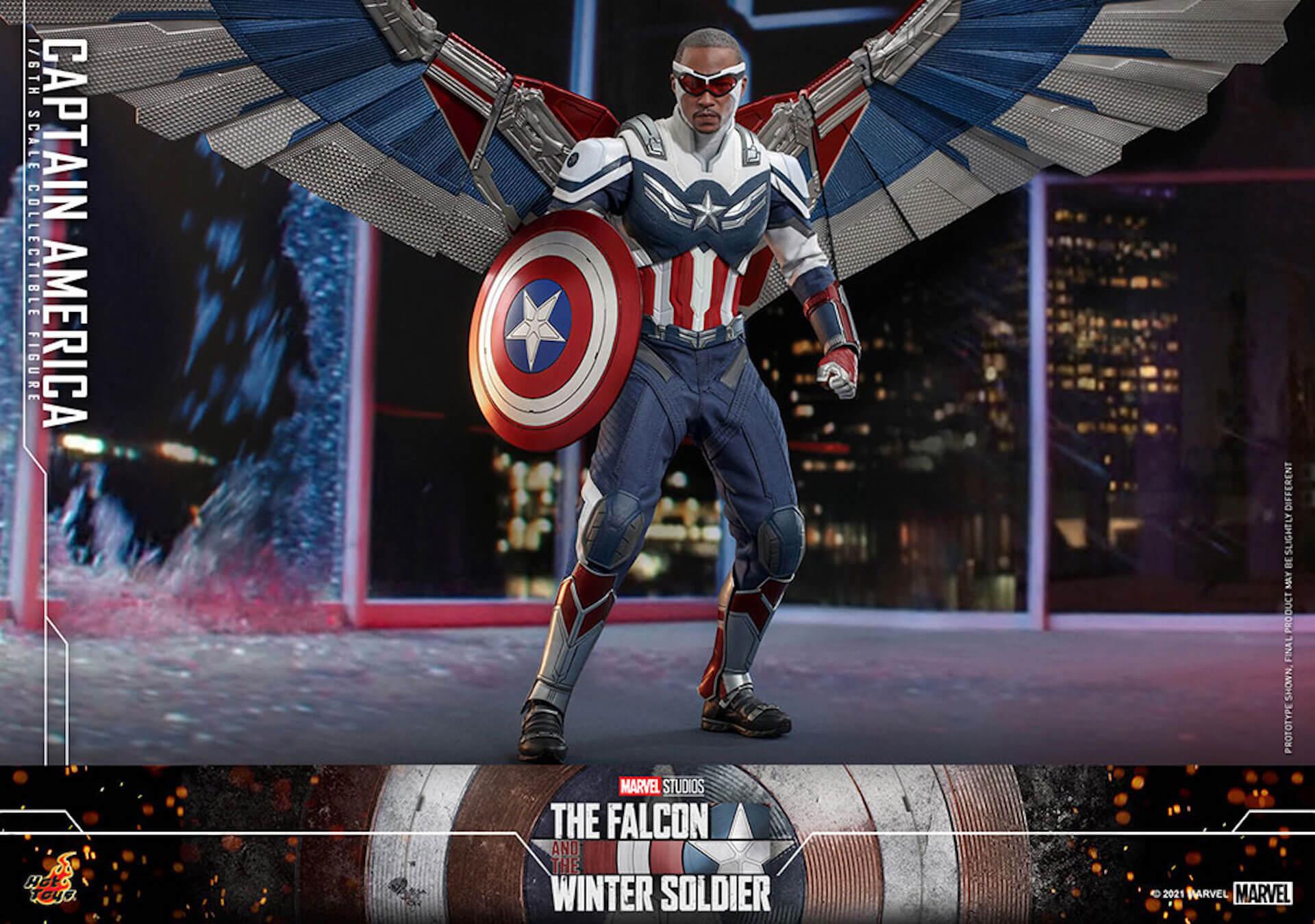 新たなキャプテン・アメリカが早くもホットトイズでフィギュアに!『ファルコン&ウィンター・ソルジャー』のサム・ウィルソンが登場 art210506_falcon_wintersoldier_2