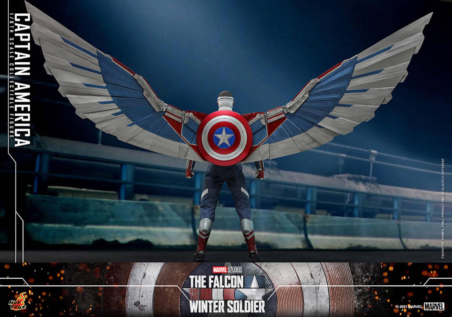 新たなキャプテン・アメリカが早くもホットトイズでフィギュアに!『ファルコン&ウィンター・ソルジャー』のサム・ウィルソンが登場 art210506_falcon_wintersoldier_4