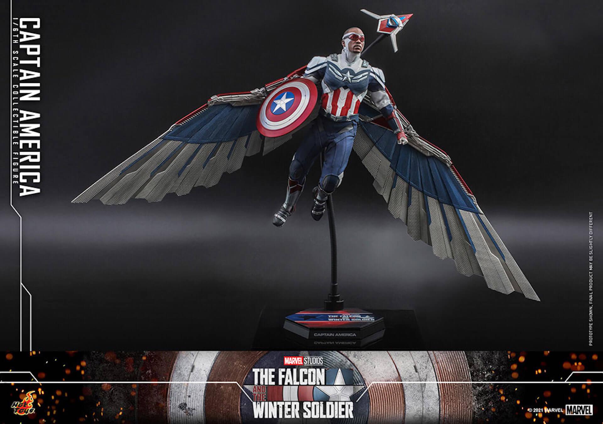 新たなキャプテン・アメリカが早くもホットトイズでフィギュアに!『ファルコン&ウィンター・ソルジャー』のサム・ウィルソンが登場 art210506_falcon_wintersoldier_5
