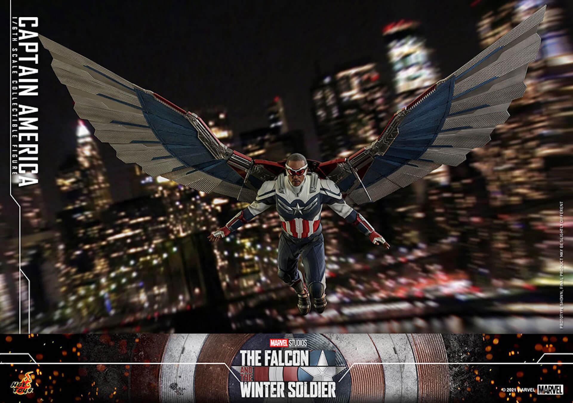 新たなキャプテン・アメリカが早くもホットトイズでフィギュアに!『ファルコン&ウィンター・ソルジャー』のサム・ウィルソンが登場 art210506_falcon_wintersoldier_6