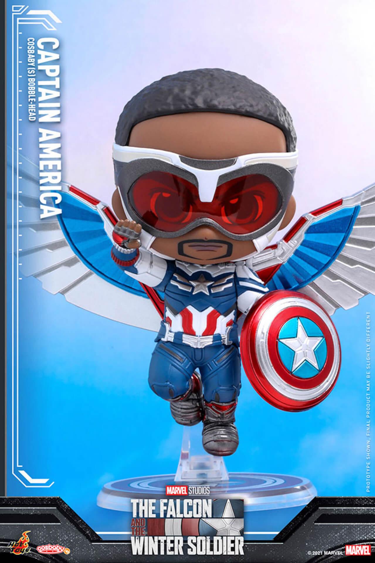 新たなキャプテン・アメリカが早くもホットトイズでフィギュアに!『ファルコン&ウィンター・ソルジャー』のサム・ウィルソンが登場 art210506_falcon_wintersoldier_7