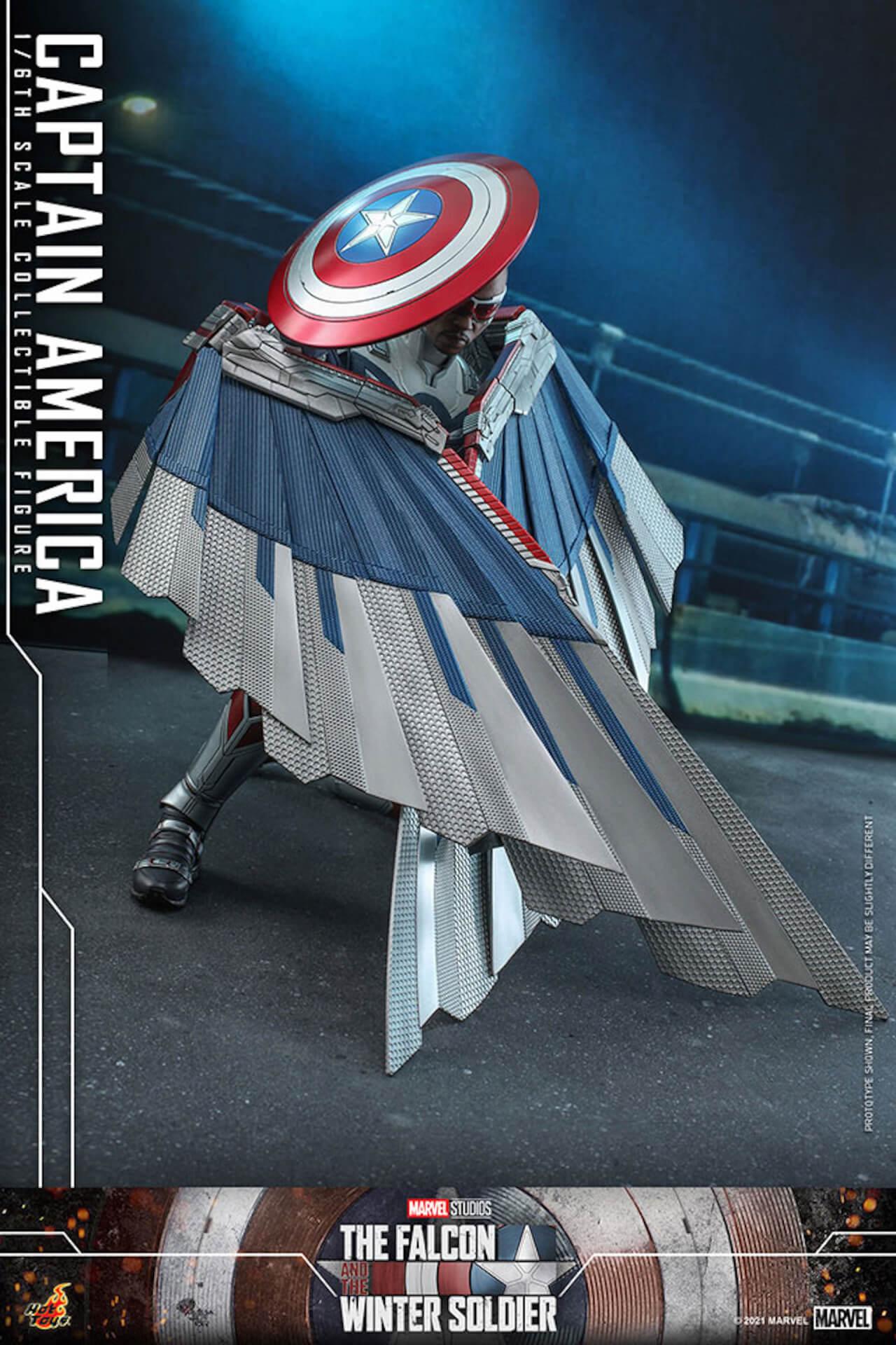 新たなキャプテン・アメリカが早くもホットトイズでフィギュアに!『ファルコン&ウィンター・ソルジャー』のサム・ウィルソンが登場 art210506_falcon_wintersoldier_8